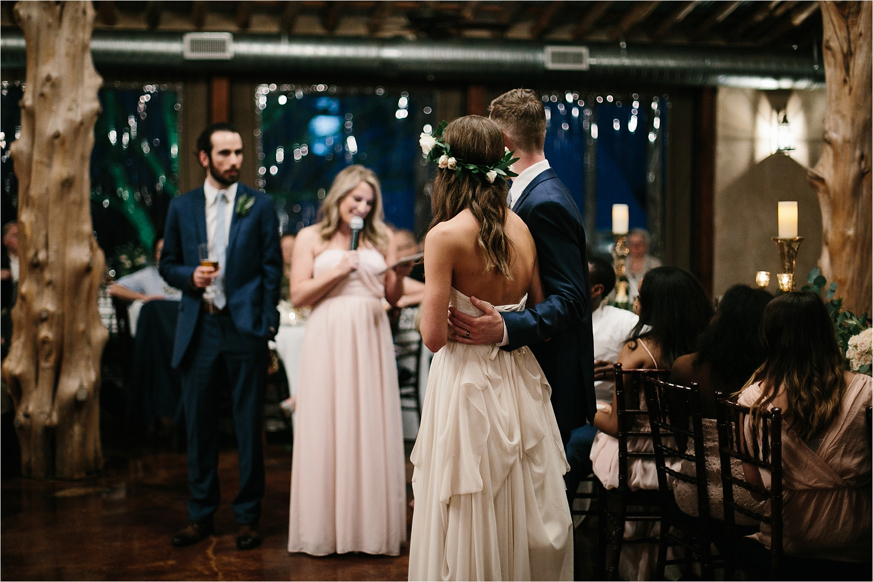 Lauren + Matt __ an intimate, emotional, blush pink, navy blue, and greenery toned wedding accents at the Brooks at Weatherford by North Texas Wedding Photographer Rachel Meagan Photography153