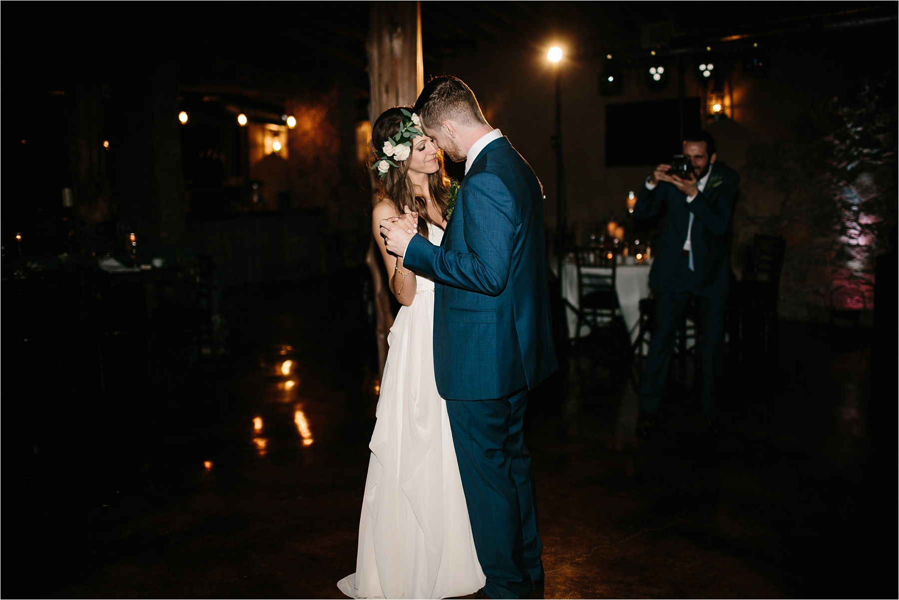 Lauren + Matt __ an intimate, emotional, blush pink, navy blue, and greenery toned wedding accents at the Brooks at Weatherford by North Texas Wedding Photographer Rachel Meagan Photography165