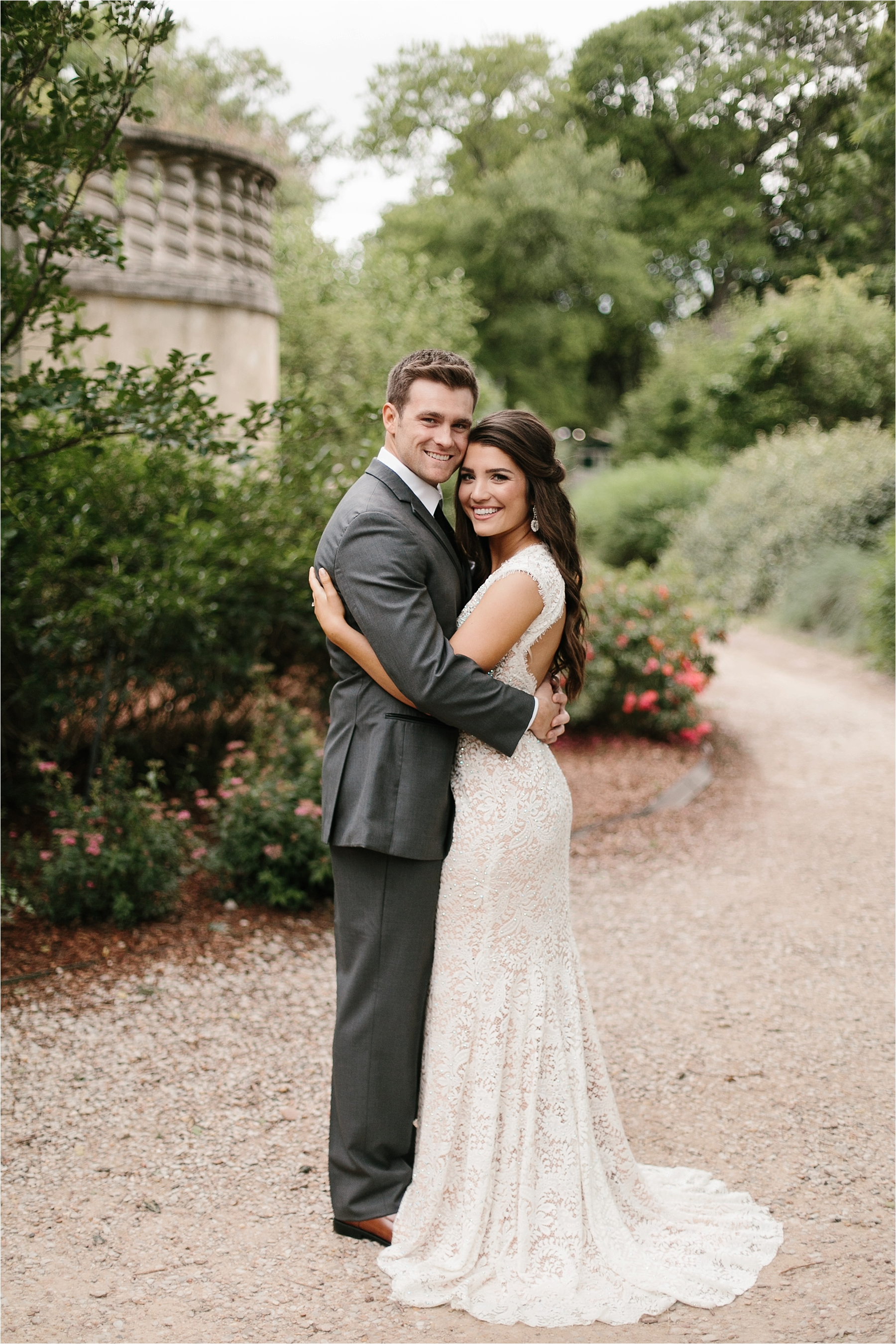 Devyn + Caden __ a Dallas Arboretum Garden Style Wedding by North Texas Wedding Photographer Rachel Meagan Photography __ 027