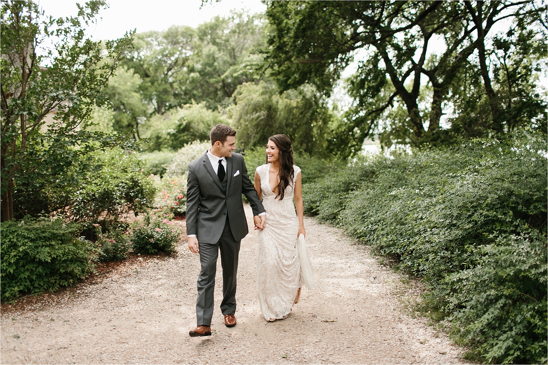 Devyn + Caden __ a Dallas Arboretum Garden Style Wedding by North Texas Wedding Photographer Rachel Meagan Photography __ 034