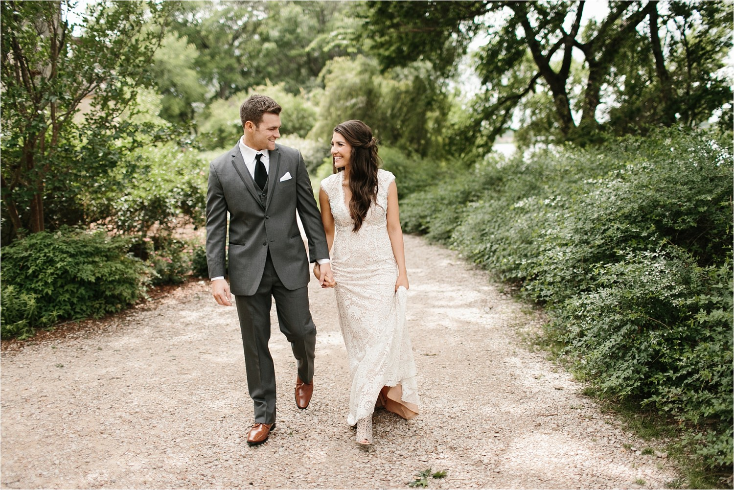 Devyn + Caden // a dallas arboretum wedding