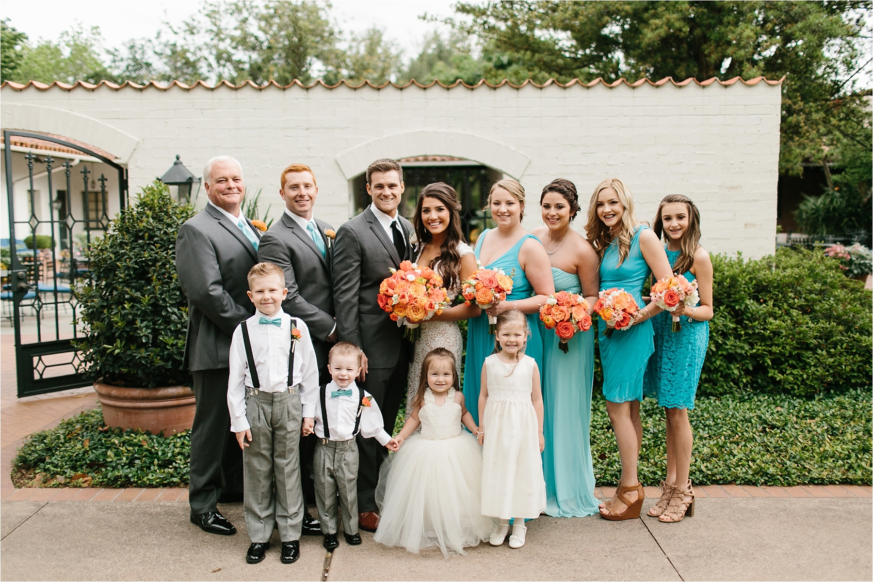 Devyn + Caden __ a Dallas Arboretum Garden Style Wedding by North Texas Wedding Photographer Rachel Meagan Photography __ 058