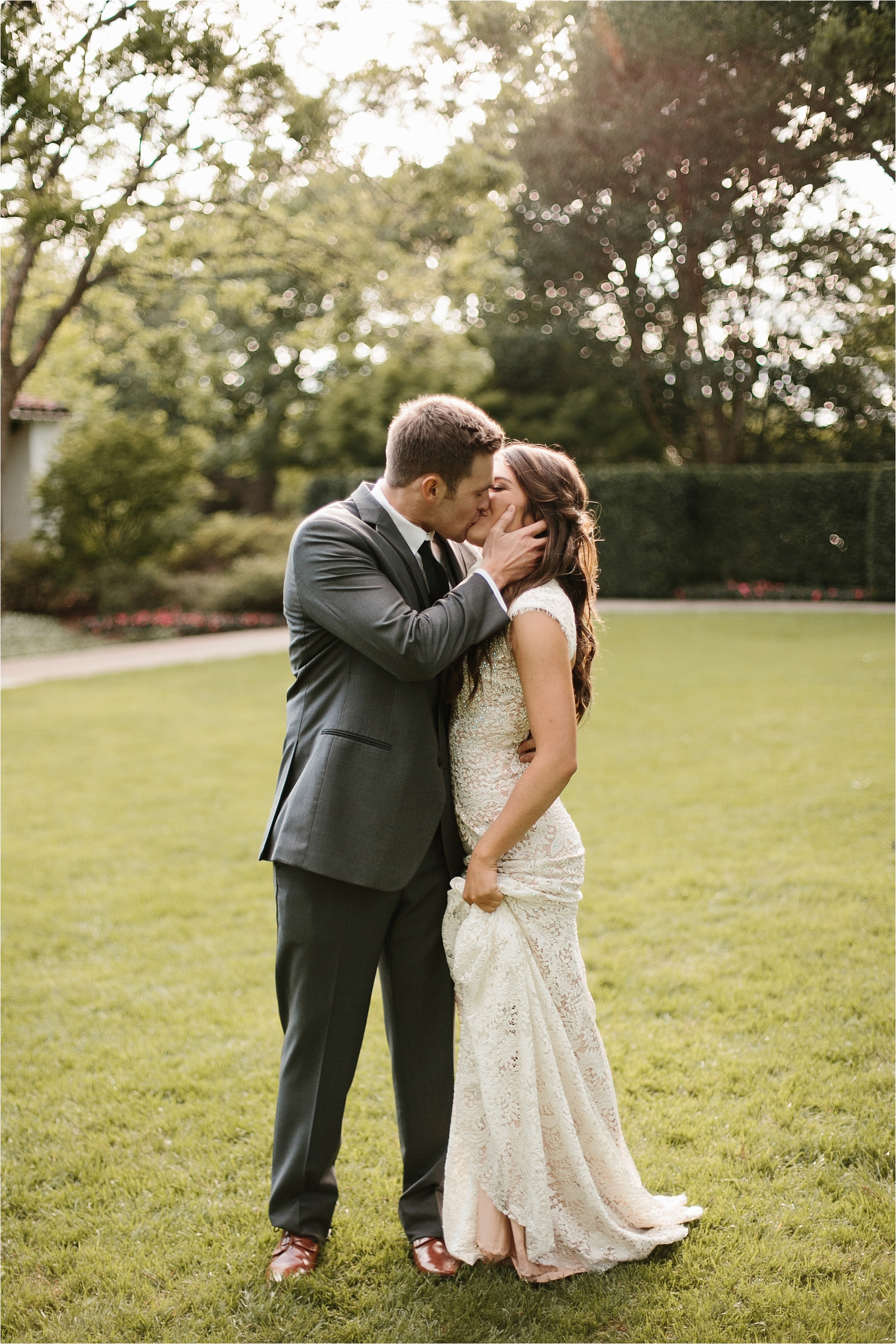 Devyn + Caden __ a Dallas Arboretum Garden Style Wedding by North Texas Wedding Photographer Rachel Meagan Photography __ 083