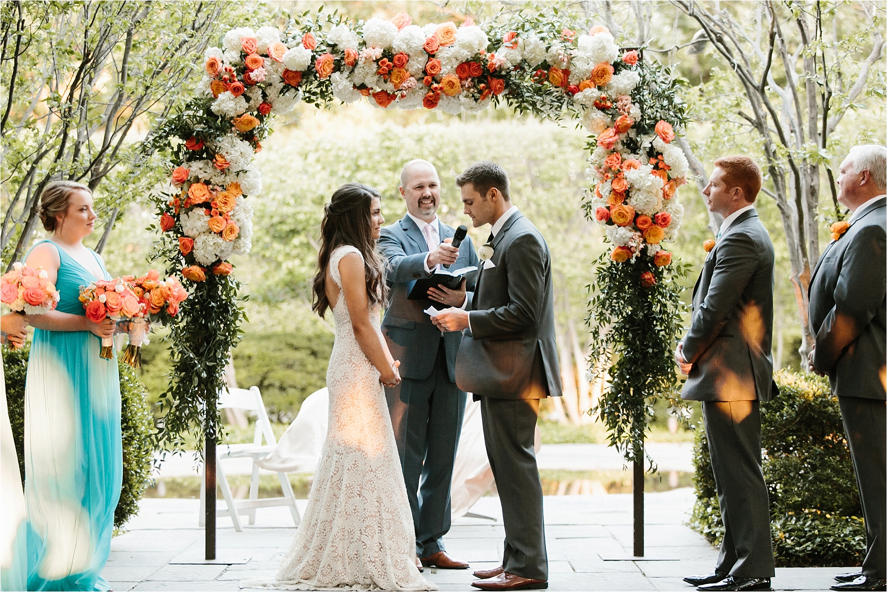 Devyn + Caden __ a Dallas Arboretum Garden Style Wedding by North Texas Wedding Photographer Rachel Meagan Photography __ 096