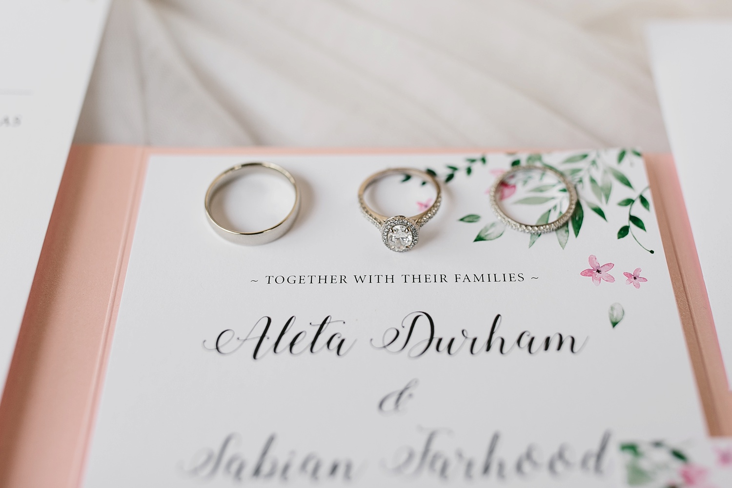 Aleta + Sabian a blush pink and navy blue wedding at The Springs in Anna, TX by North Texas Wedding Photographer _ Rachel Meagan Photography _ 004