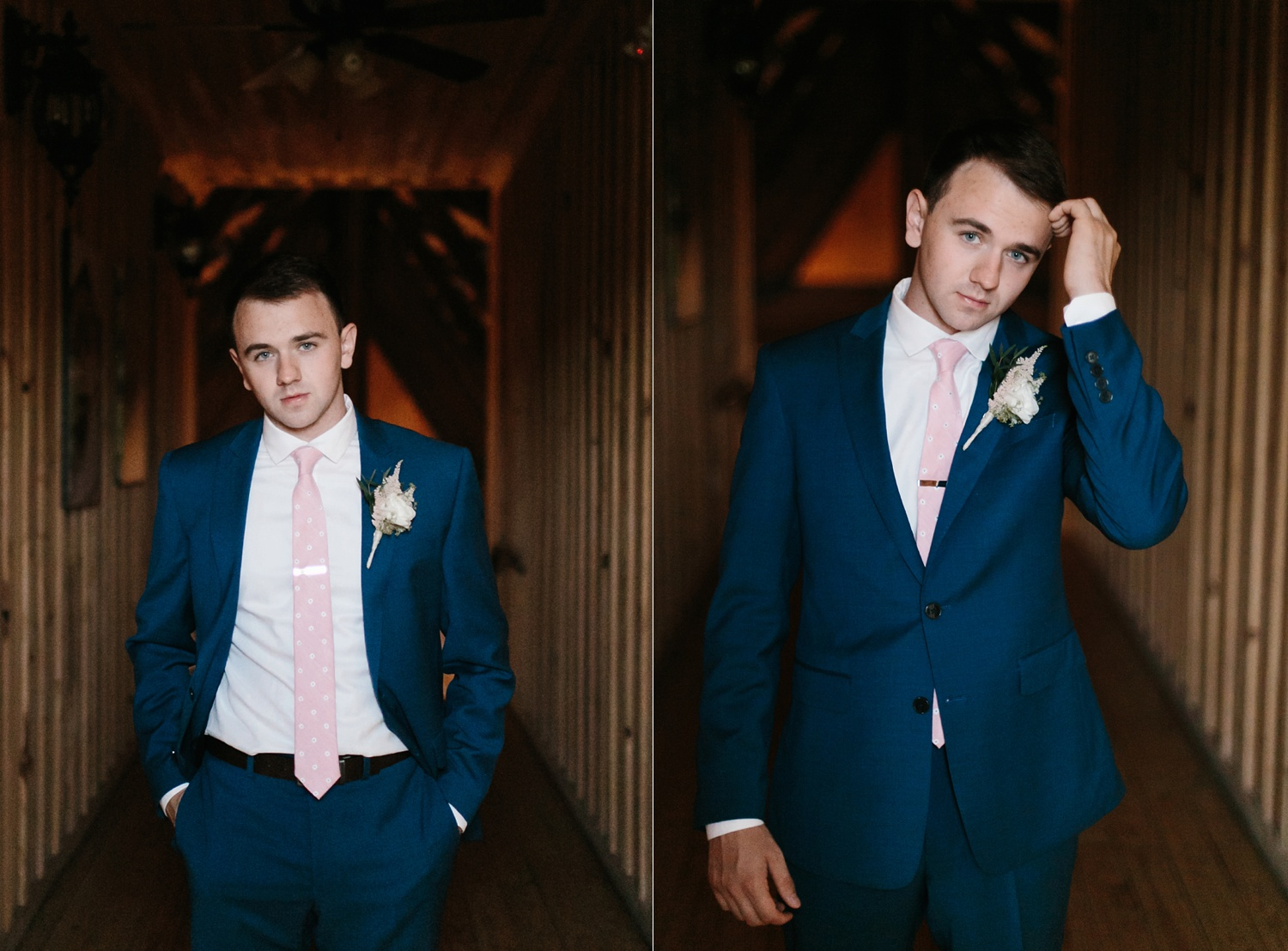 Aleta + Sabian a blush pink and navy blue wedding at The Springs in Anna, TX by North Texas Wedding Photographer _ Rachel Meagan Photography _ 015