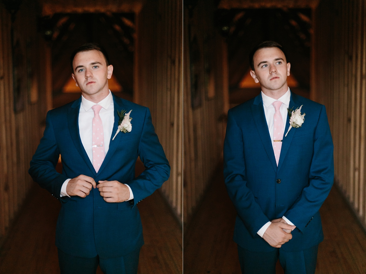 Aleta + Sabian a blush pink and navy blue wedding at The Springs in Anna, TX by North Texas Wedding Photographer _ Rachel Meagan Photography _ 017