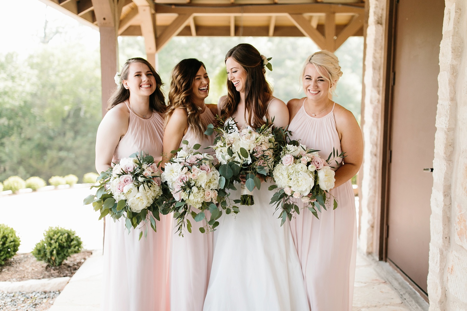 Aleta + Sabian a blush pink and navy blue wedding at The Springs in Anna, TX by North Texas Wedding Photographer _ Rachel Meagan Photography _ 028