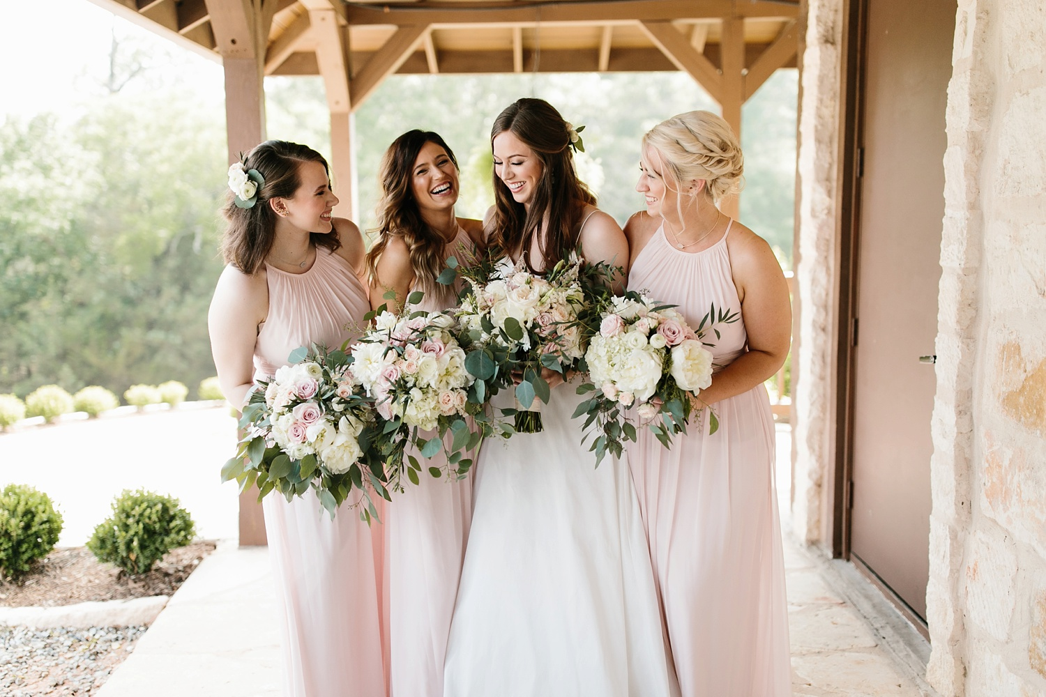 Aleta + Sabian a blush pink and navy blue wedding at The Springs in Anna, TX by North Texas Wedding Photographer _ Rachel Meagan Photography _ 029