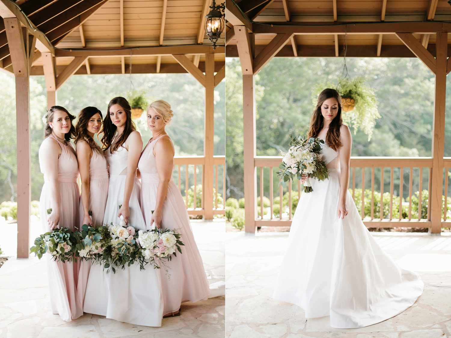 Aleta + Sabian a blush pink and navy blue wedding at The Springs in Anna, TX by North Texas Wedding Photographer _ Rachel Meagan Photography _ 030
