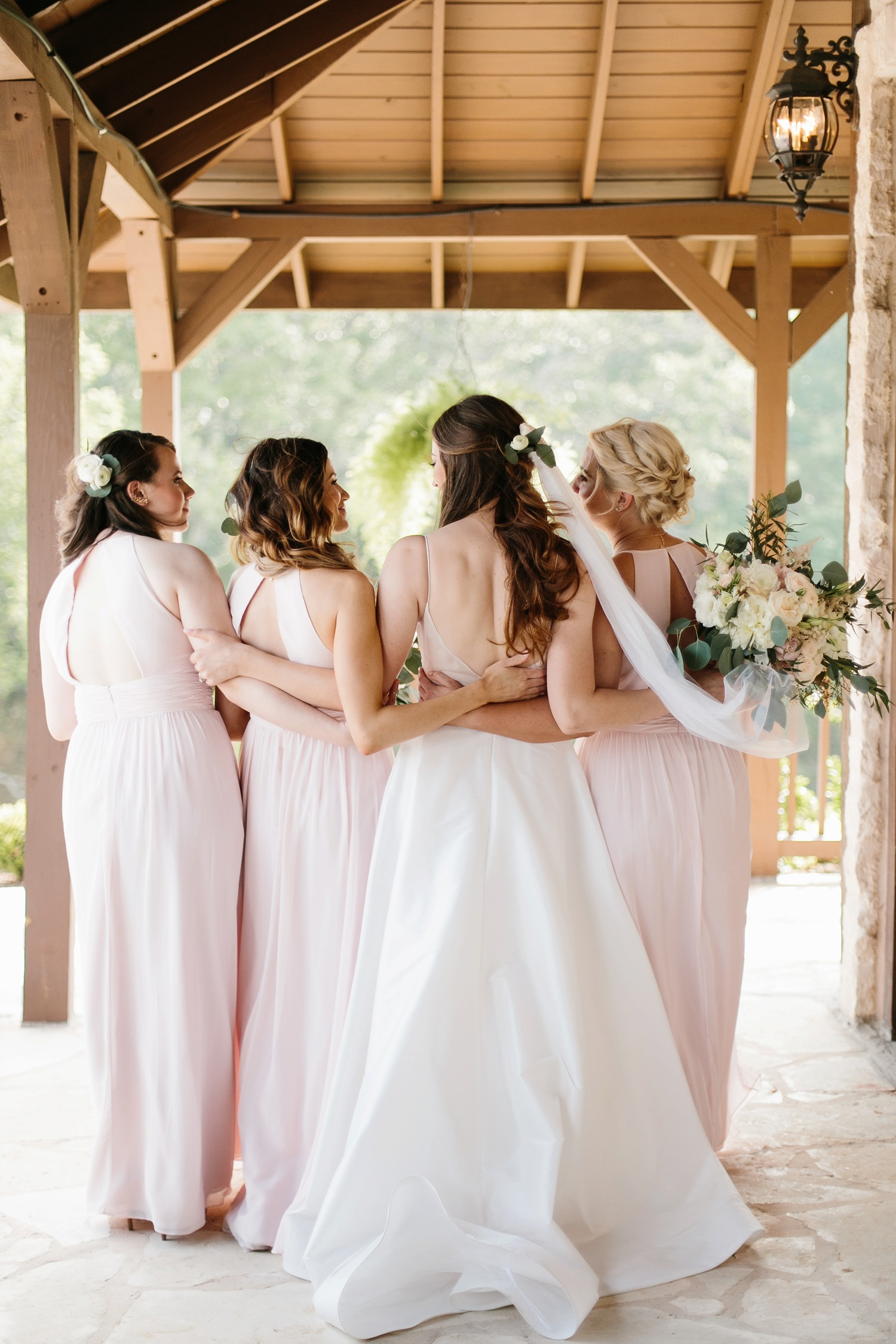 Aleta + Sabian a blush pink and navy blue wedding at The Springs in Anna, TX by North Texas Wedding Photographer _ Rachel Meagan Photography _ 031