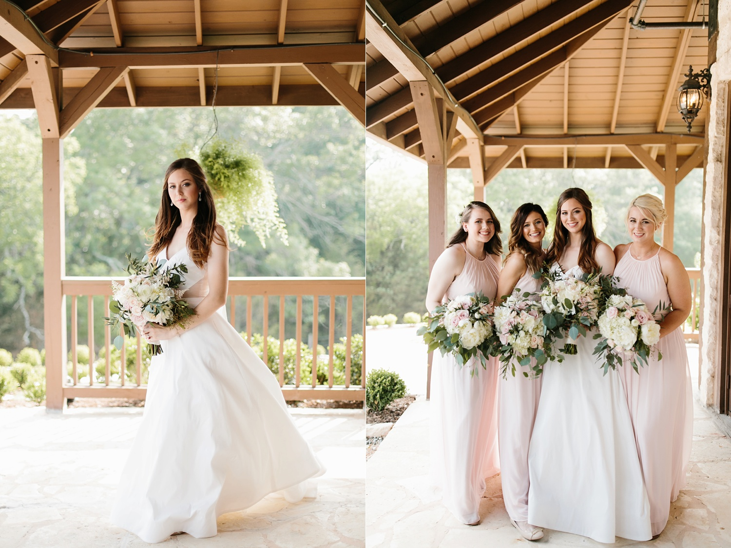 Aleta + Sabian a blush pink and navy blue wedding at The Springs in Anna, TX by North Texas Wedding Photographer _ Rachel Meagan Photography _ 032