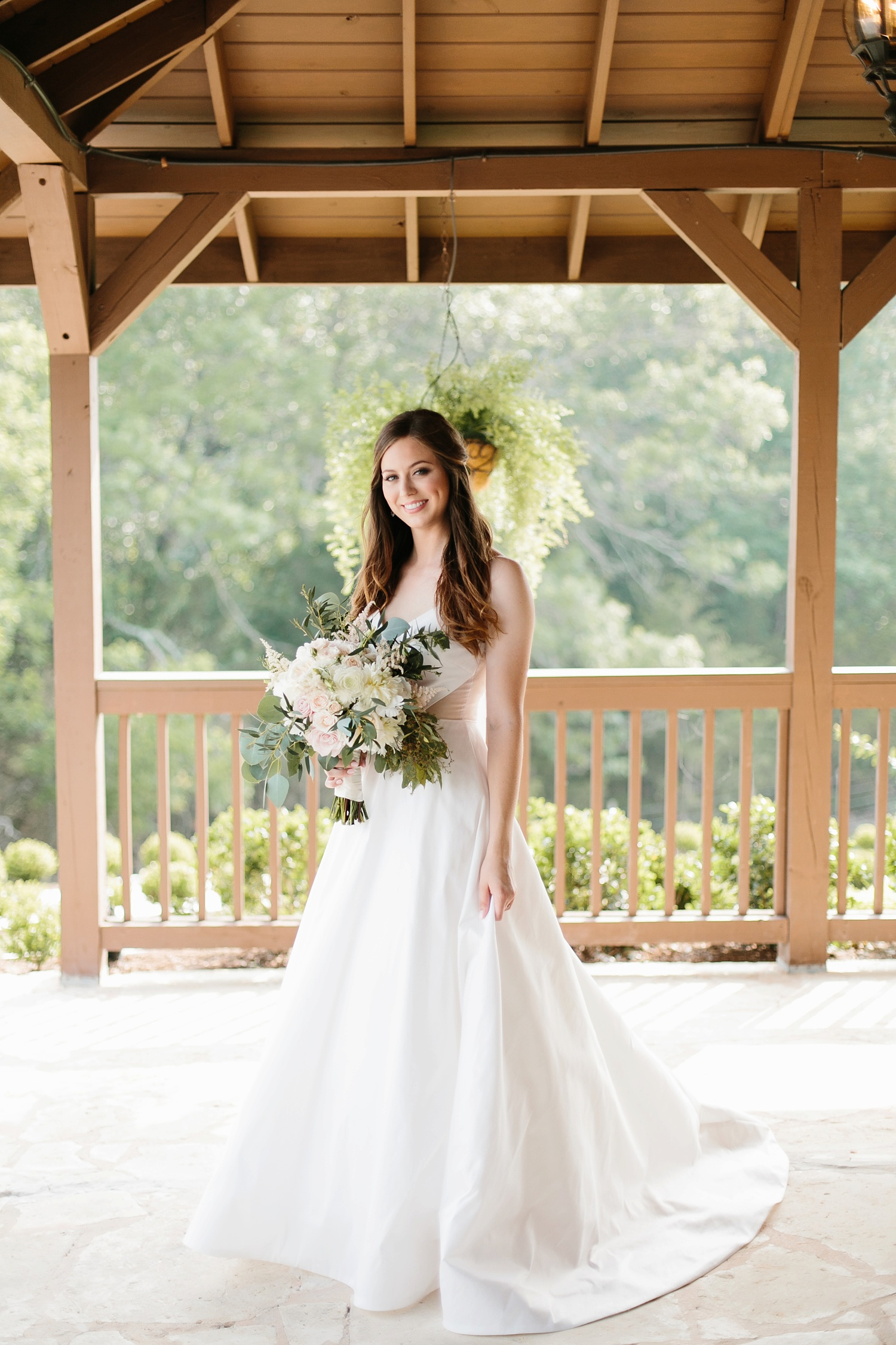 Aleta + Sabian a blush pink and navy blue wedding at The Springs in Anna, TX by North Texas Wedding Photographer _ Rachel Meagan Photography _ 033