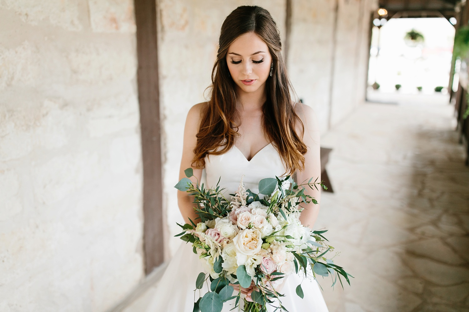 Aleta + Sabian a blush pink and navy blue wedding at The Springs in Anna, TX by North Texas Wedding Photographer _ Rachel Meagan Photography _ 036