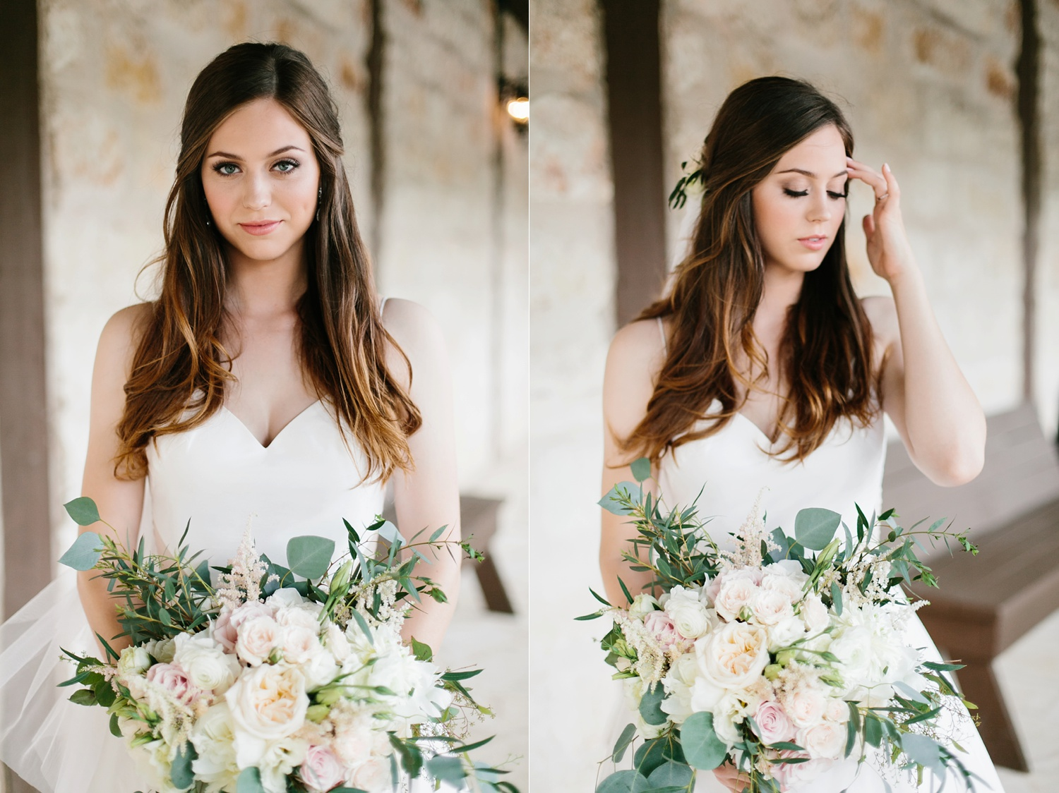 Aleta + Sabian a blush pink and navy blue wedding at The Springs in Anna, TX by North Texas Wedding Photographer _ Rachel Meagan Photography _ 037