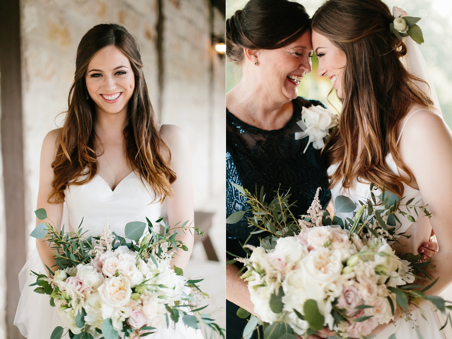 Aleta + Sabian a blush pink and navy blue wedding at The Springs in Anna, TX by North Texas Wedding Photographer _ Rachel Meagan Photography _ 038