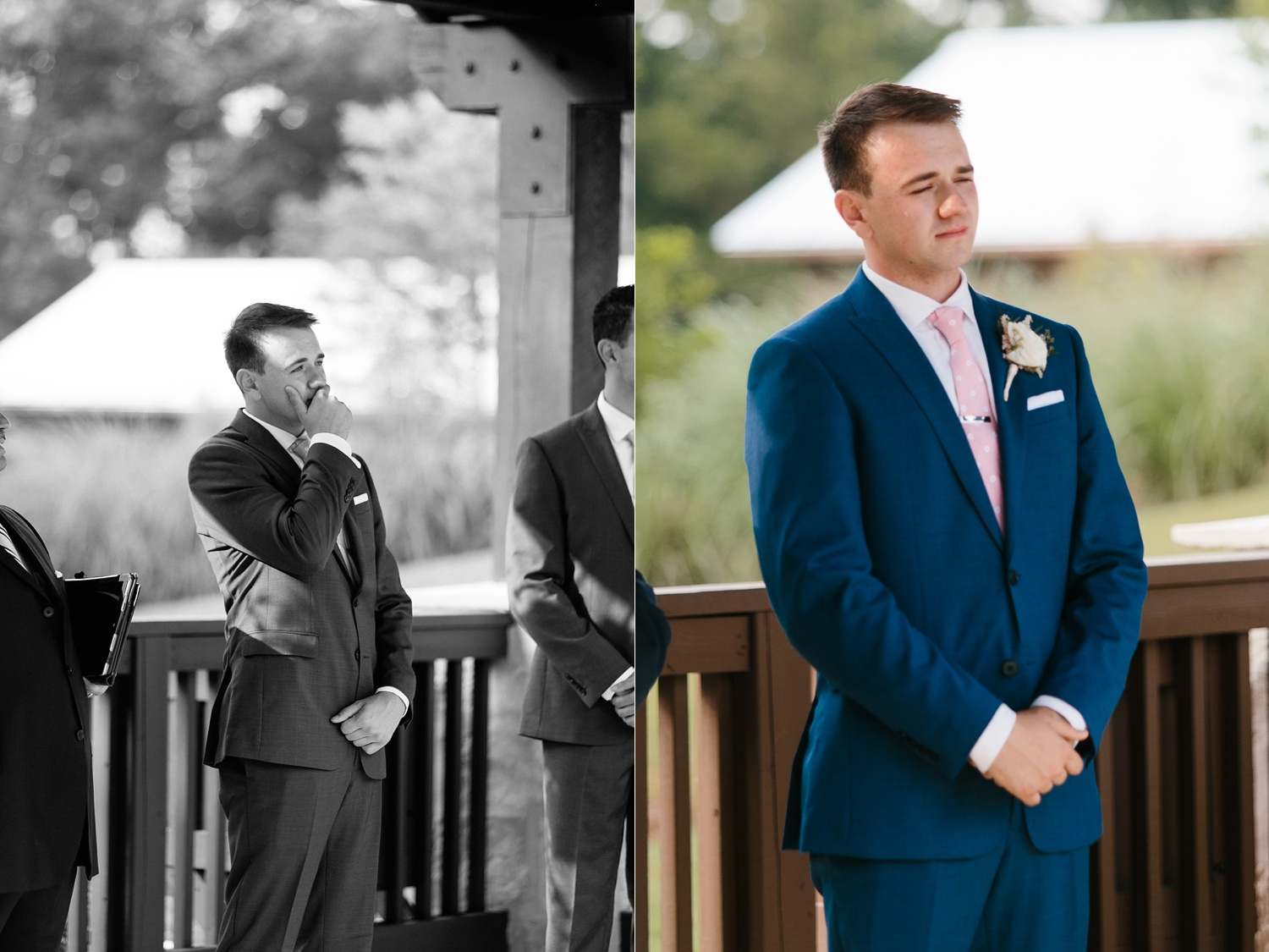 Aleta + Sabian a blush pink and navy blue wedding at The Springs in Anna, TX by North Texas Wedding Photographer _ Rachel Meagan Photography _ 047