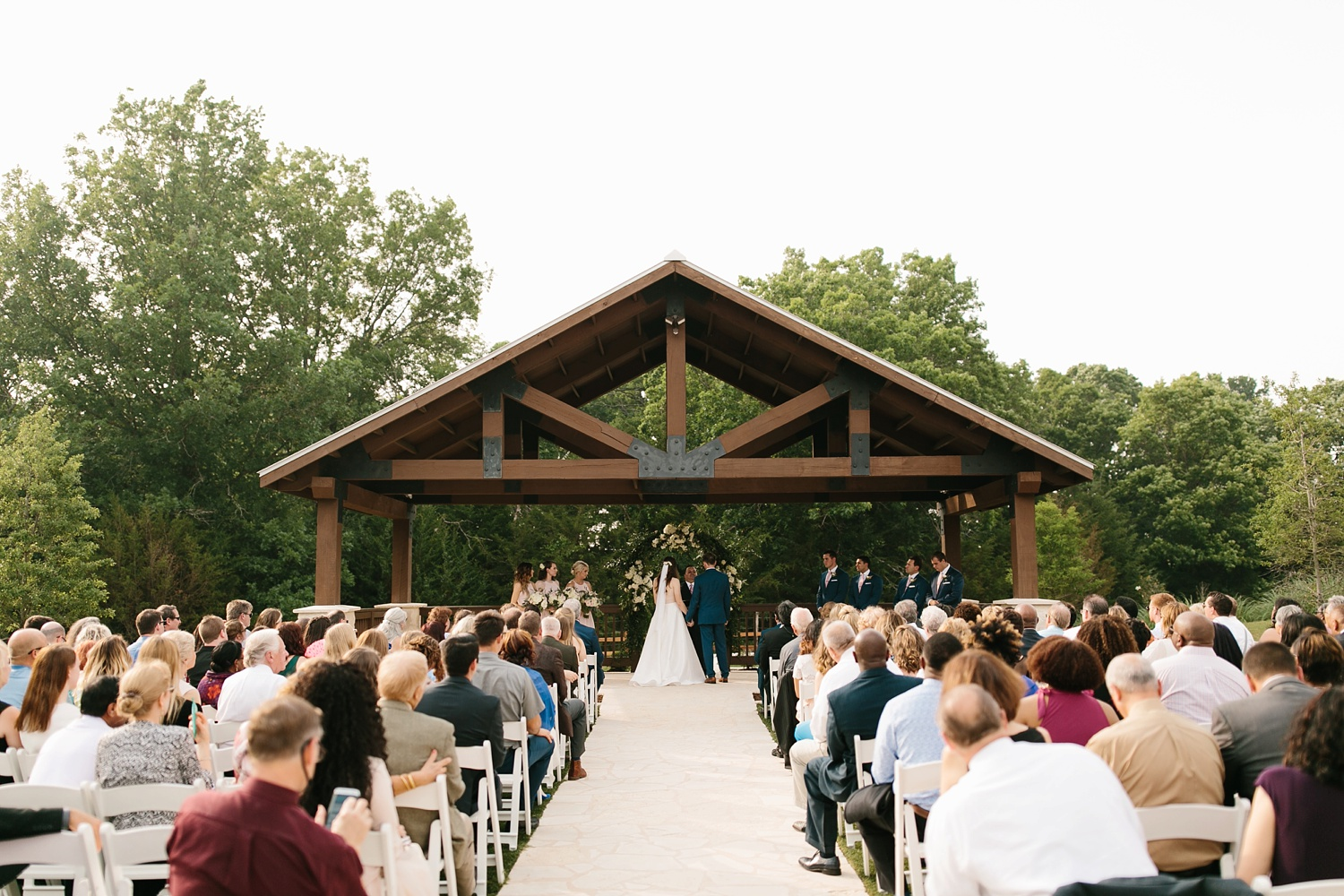 Aleta + Sabian a blush pink and navy blue wedding at The Springs in Anna, TX by North Texas Wedding Photographer _ Rachel Meagan Photography _ 054