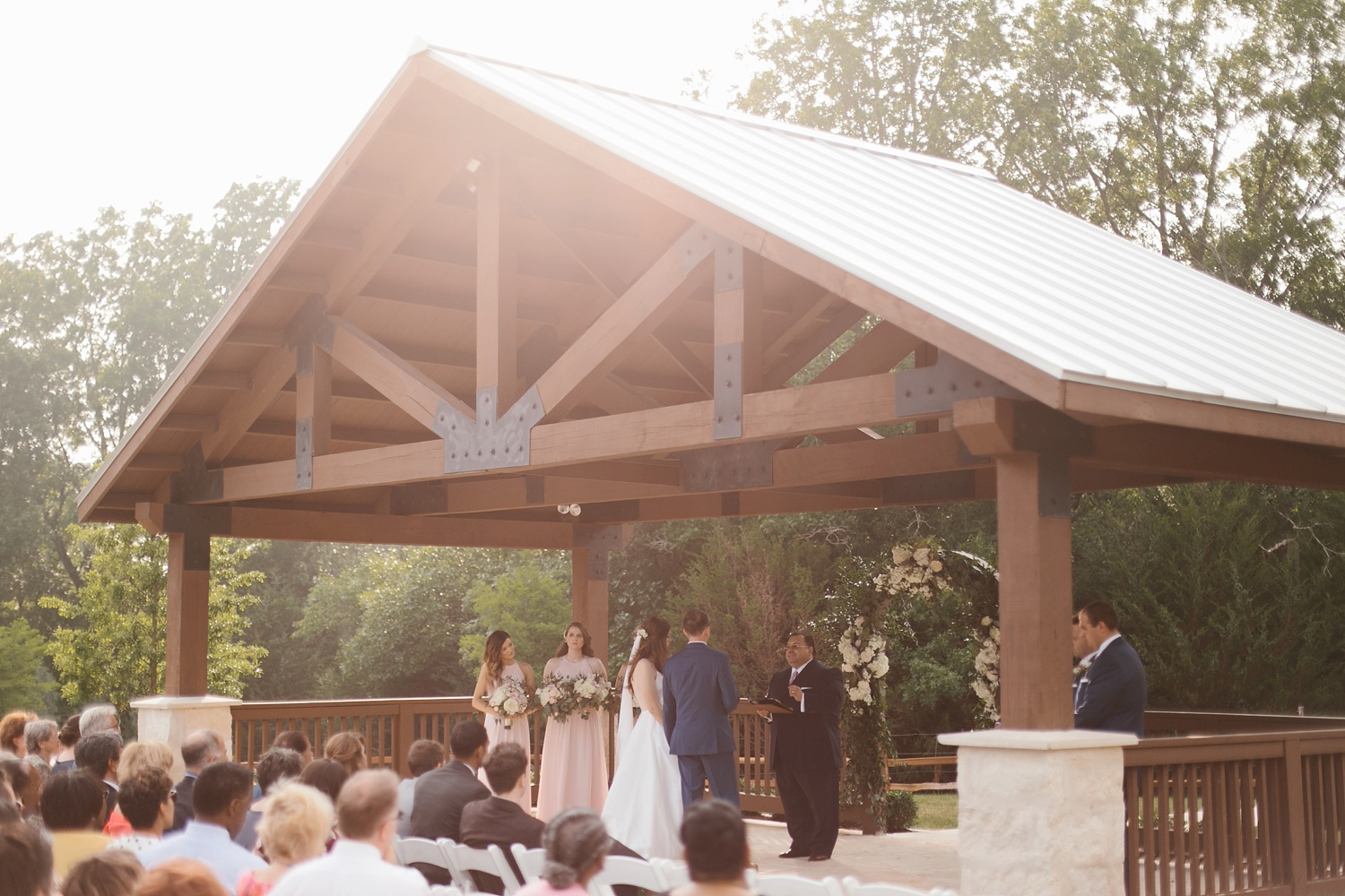 Aleta + Sabian a blush pink and navy blue wedding at The Springs in Anna, TX by North Texas Wedding Photographer _ Rachel Meagan Photography _ 055