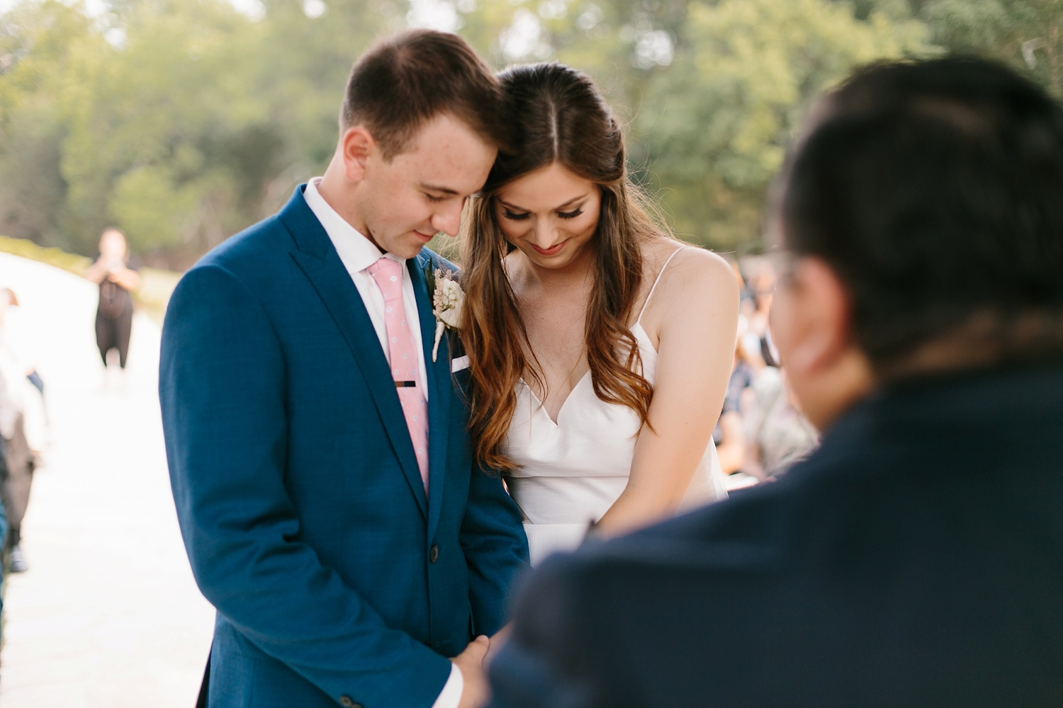 Aleta + Sabian a blush pink and navy blue wedding at The Springs in Anna, TX by North Texas Wedding Photographer _ Rachel Meagan Photography _ 062