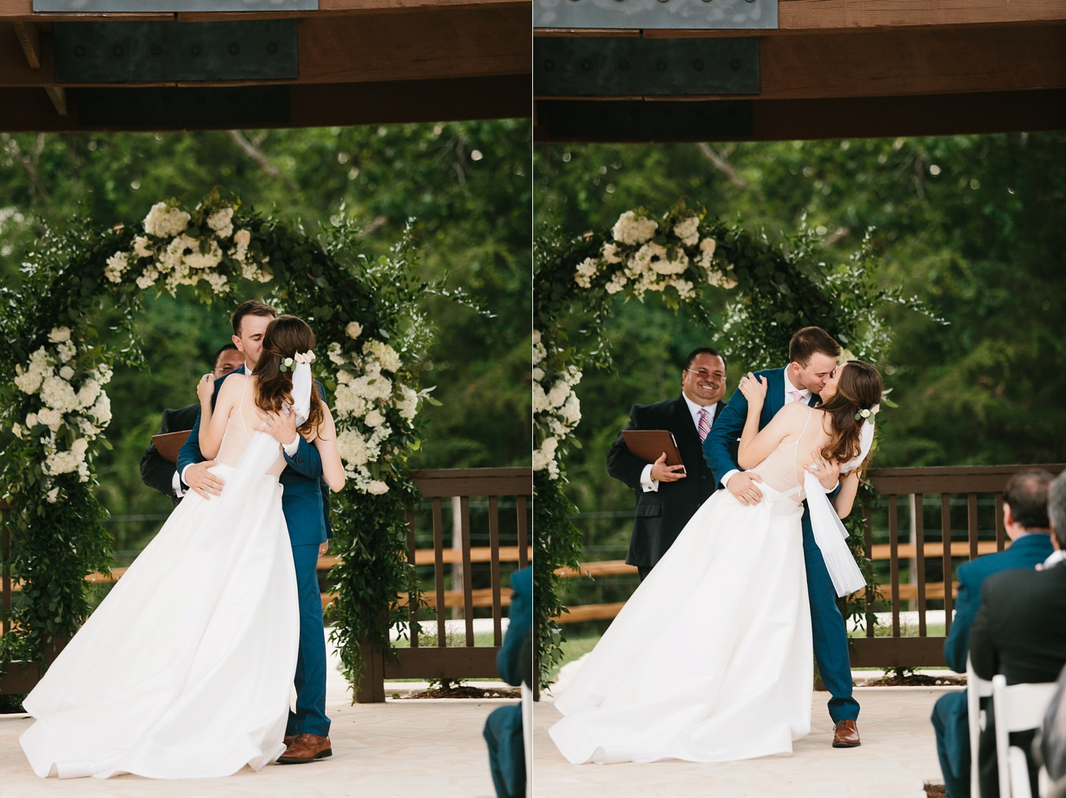 Aleta + Sabian a blush pink and navy blue wedding at The Springs in Anna, TX by North Texas Wedding Photographer _ Rachel Meagan Photography _ 063