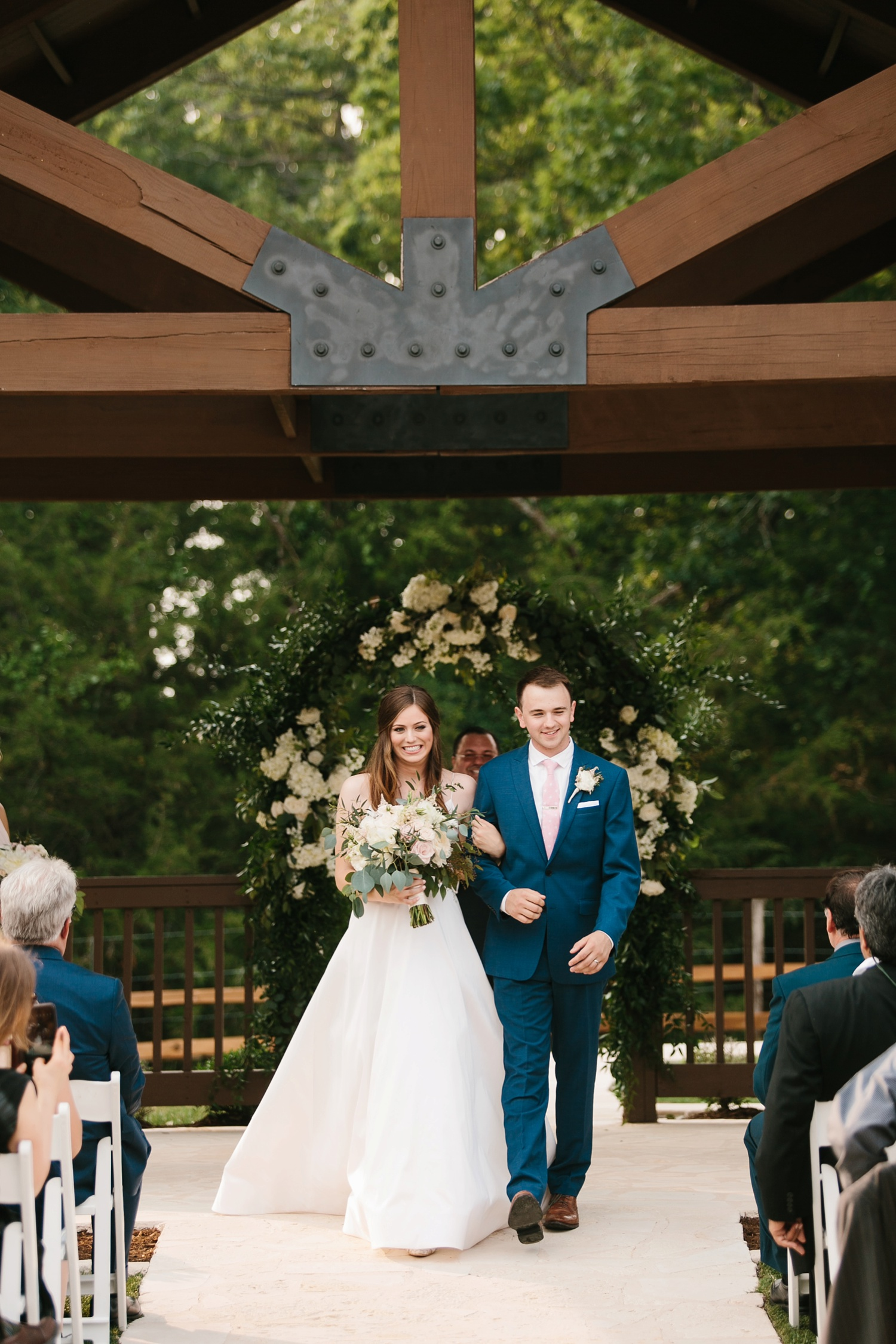 Aleta + Sabian a blush pink and navy blue wedding at The Springs in Anna, TX by North Texas Wedding Photographer _ Rachel Meagan Photography _ 065