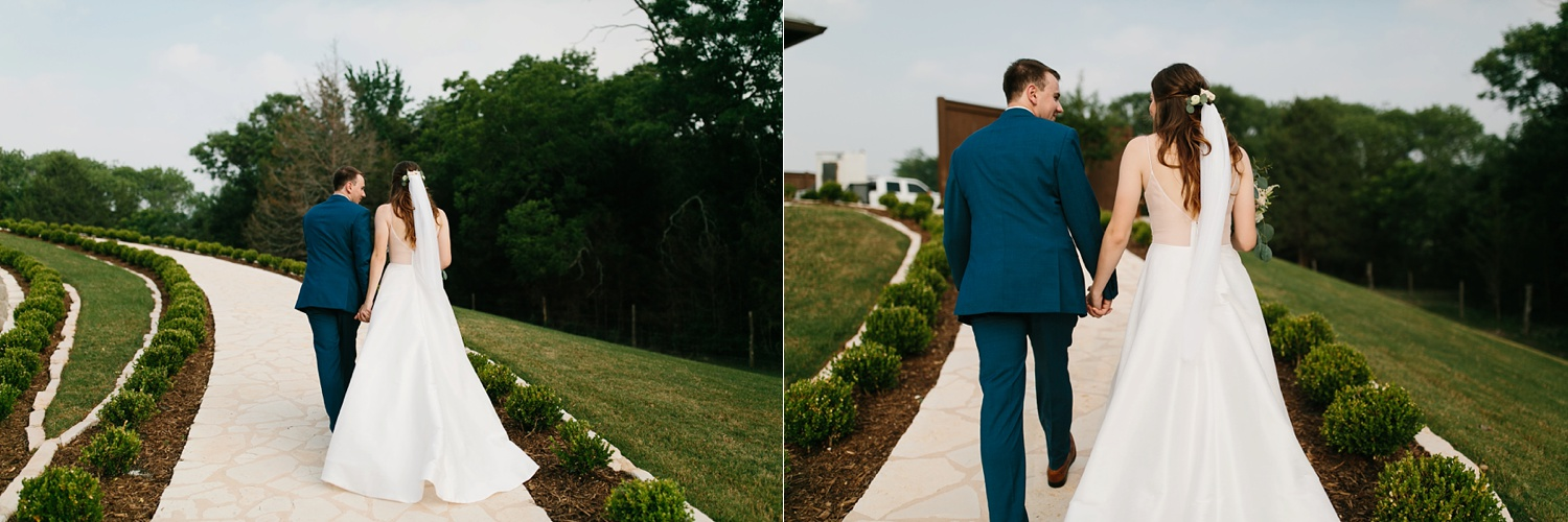 Aleta + Sabian a blush pink and navy blue wedding at The Springs in Anna, TX by North Texas Wedding Photographer _ Rachel Meagan Photography _ 066