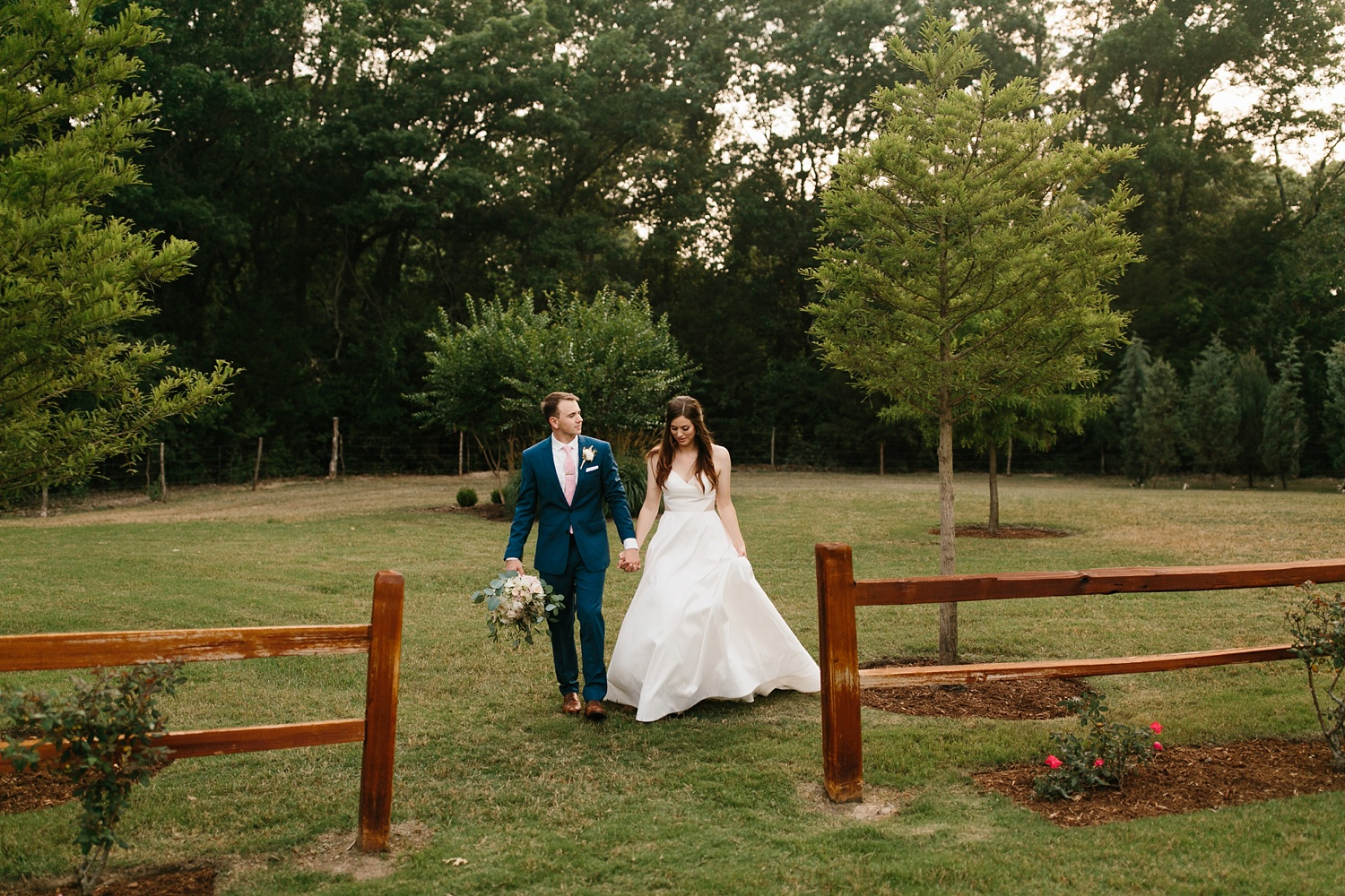 Aleta + Sabian a blush pink and navy blue wedding at The Springs in Anna, TX by North Texas Wedding Photographer _ Rachel Meagan Photography _ 080