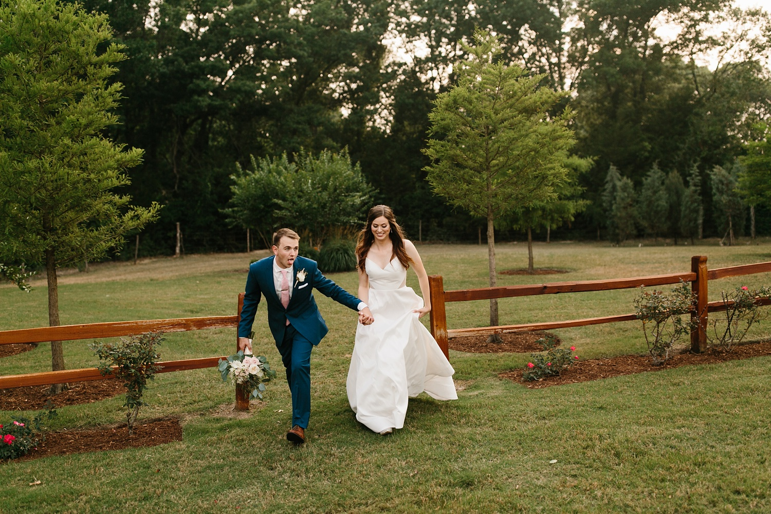 Aleta + Sabian a blush pink and navy blue wedding at The Springs in Anna, TX by North Texas Wedding Photographer _ Rachel Meagan Photography _ 081