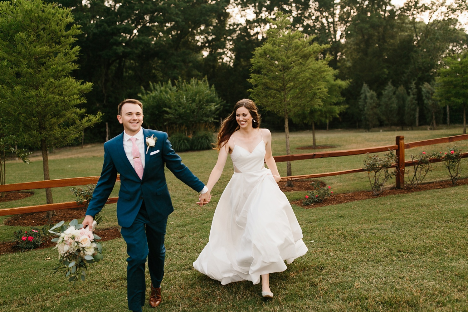 Aleta + Sabian a blush pink and navy blue wedding at The Springs in Anna, TX by North Texas Wedding Photographer _ Rachel Meagan Photography _ 082
