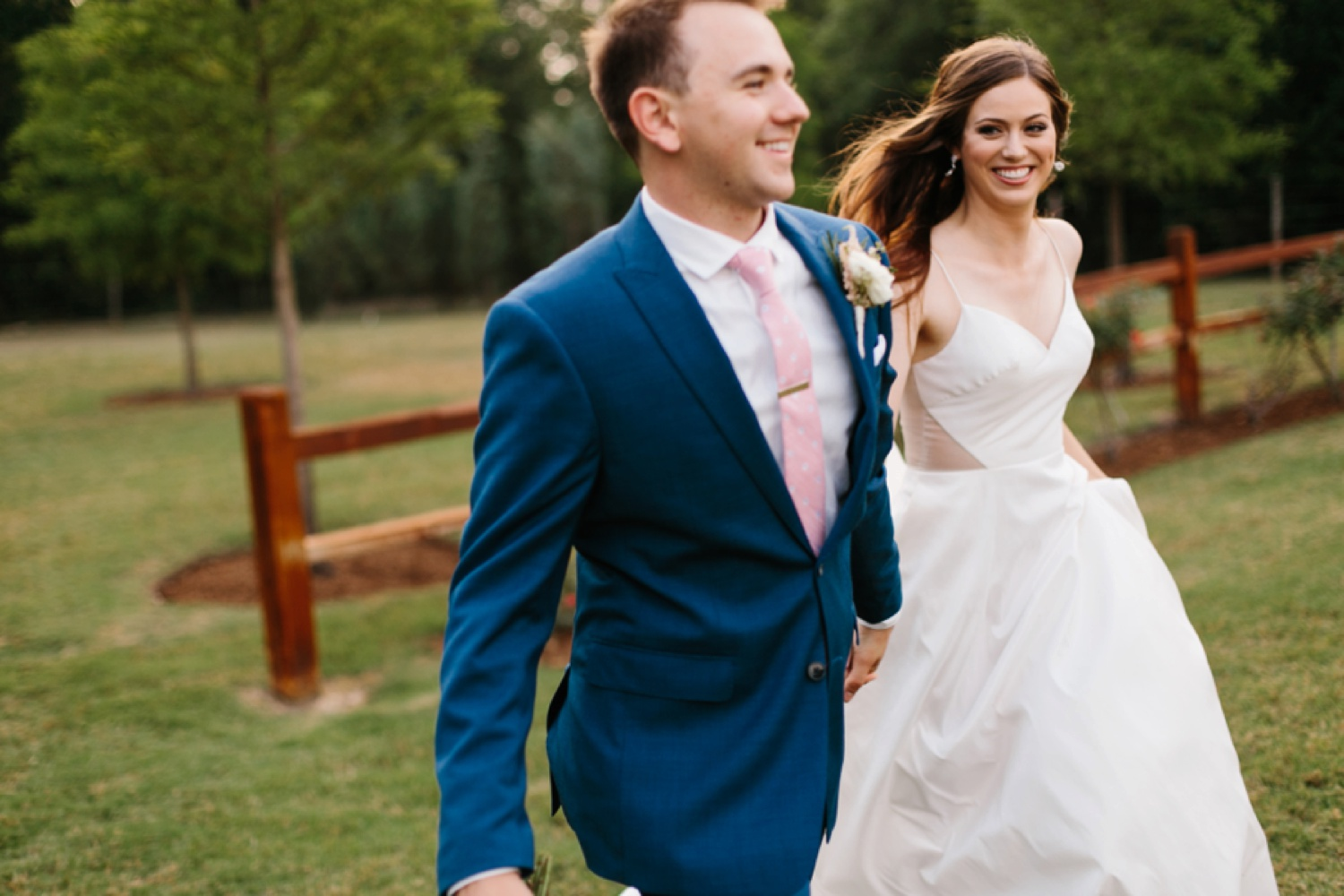 Aleta + Sabian a blush pink and navy blue wedding at The Springs in Anna, TX by North Texas Wedding Photographer _ Rachel Meagan Photography _ 083