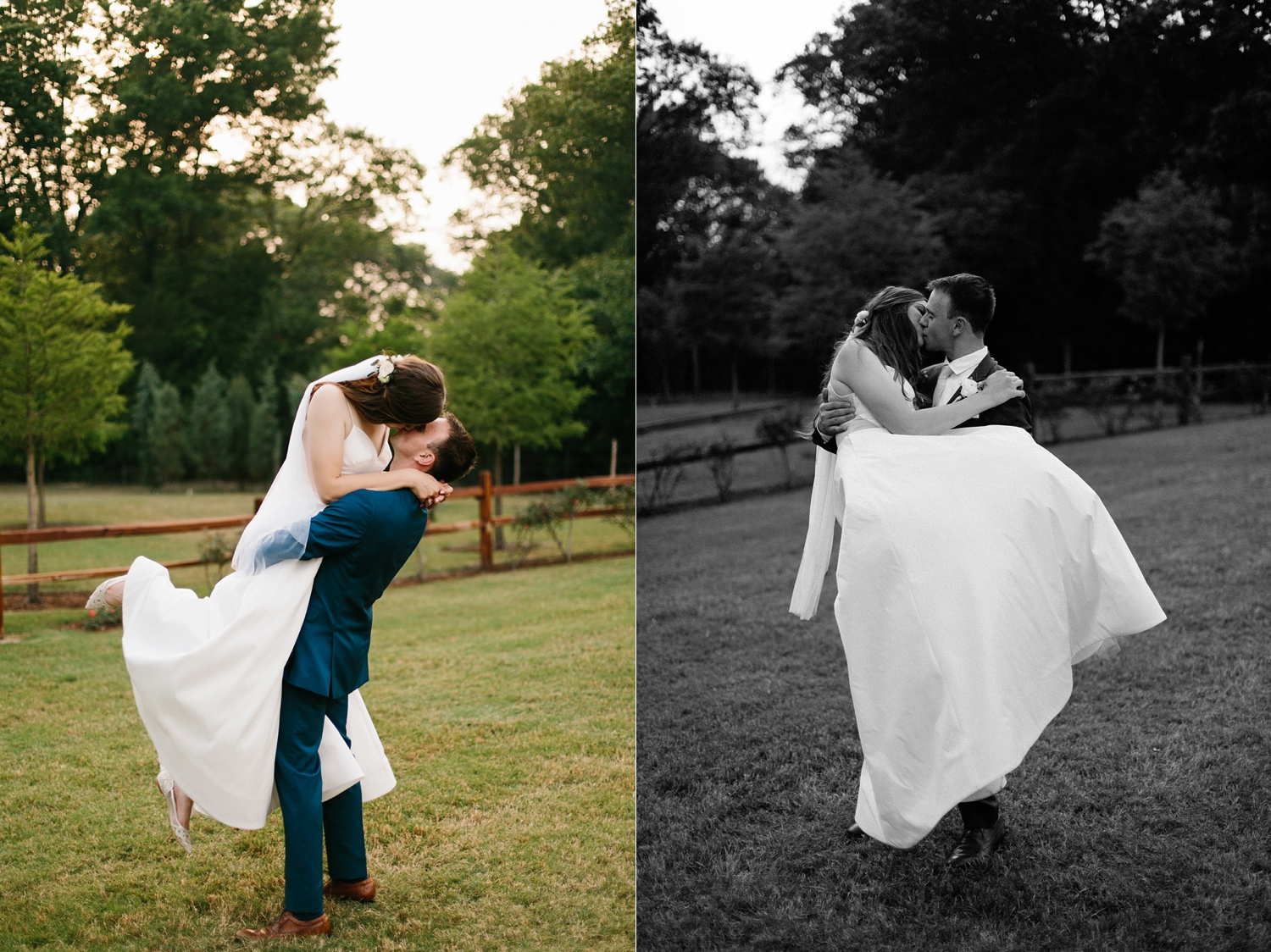 Aleta + Sabian a blush pink and navy blue wedding at The Springs in Anna, TX by North Texas Wedding Photographer _ Rachel Meagan Photography _ 086