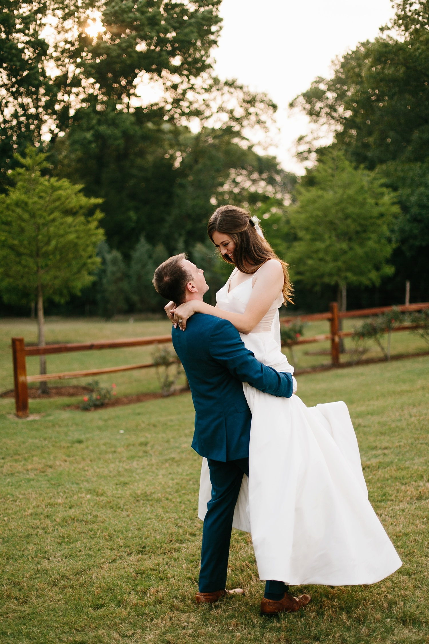 Aleta + Sabian a blush pink and navy blue wedding at The Springs in Anna, TX by North Texas Wedding Photographer _ Rachel Meagan Photography _ 088
