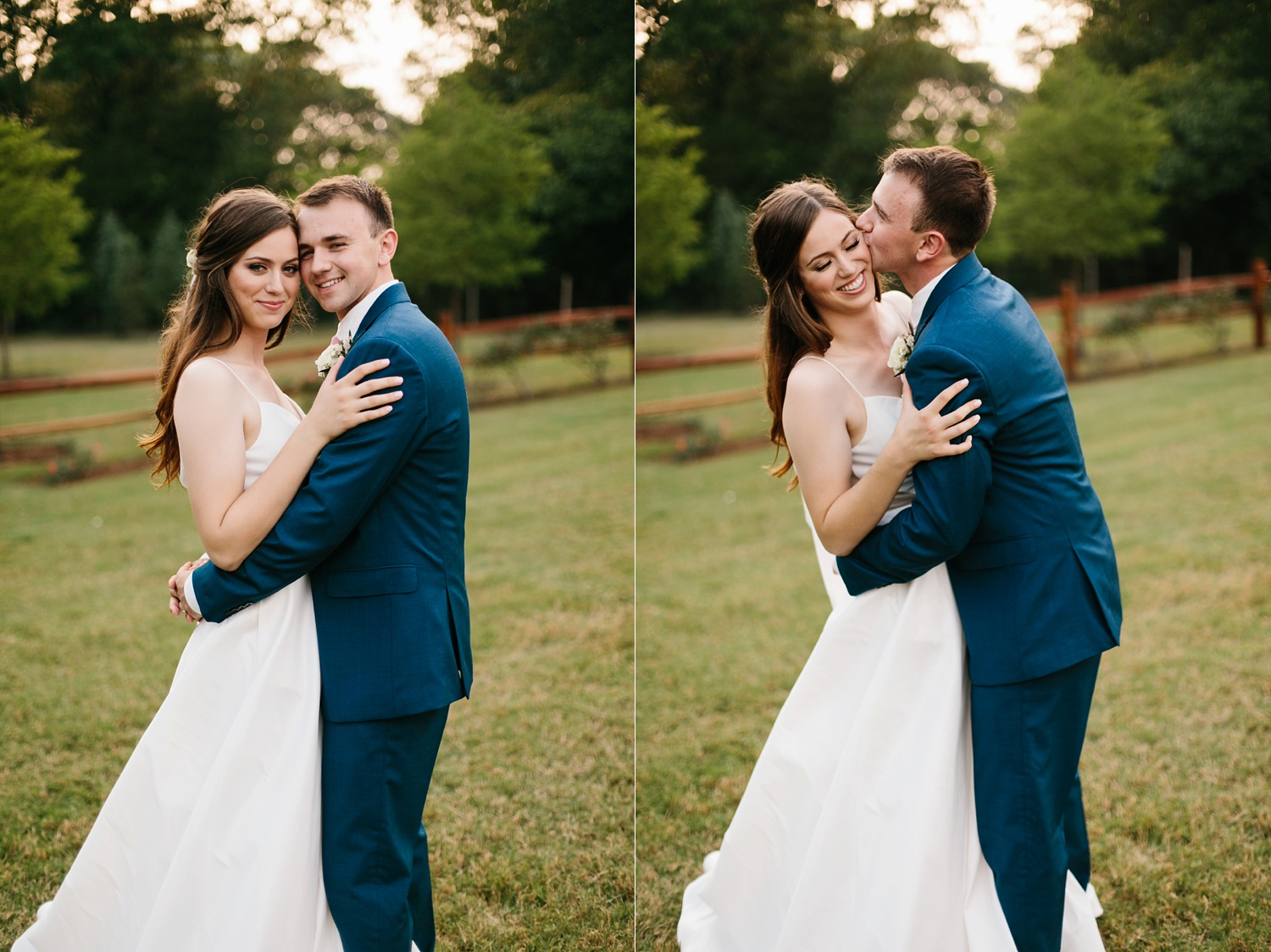 Aleta + Sabian a blush pink and navy blue wedding at The Springs in Anna, TX by North Texas Wedding Photographer _ Rachel Meagan Photography _ 091