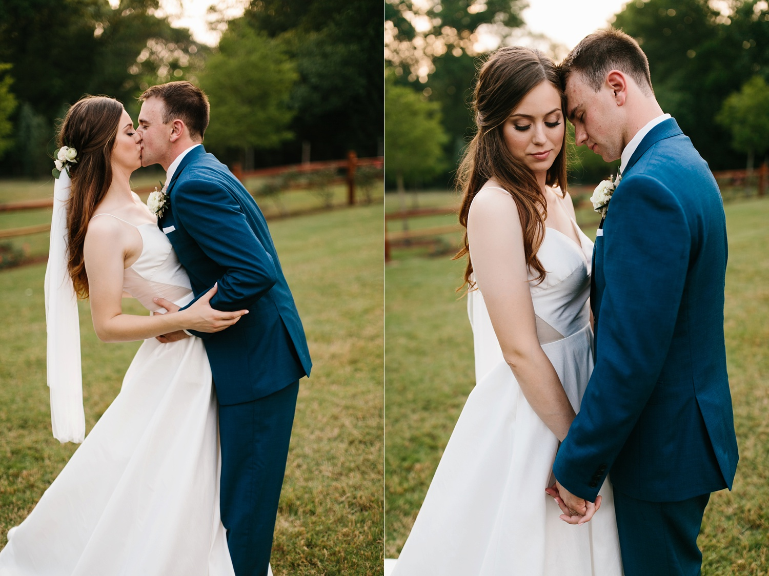 Aleta + Sabian a blush pink and navy blue wedding at The Springs in Anna, TX by North Texas Wedding Photographer _ Rachel Meagan Photography _ 092