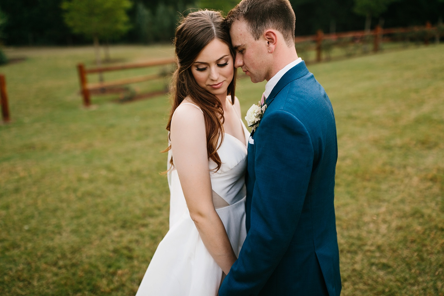 Aleta + Sabian a blush pink and navy blue wedding at The Springs in Anna, TX by North Texas Wedding Photographer _ Rachel Meagan Photography _ 093