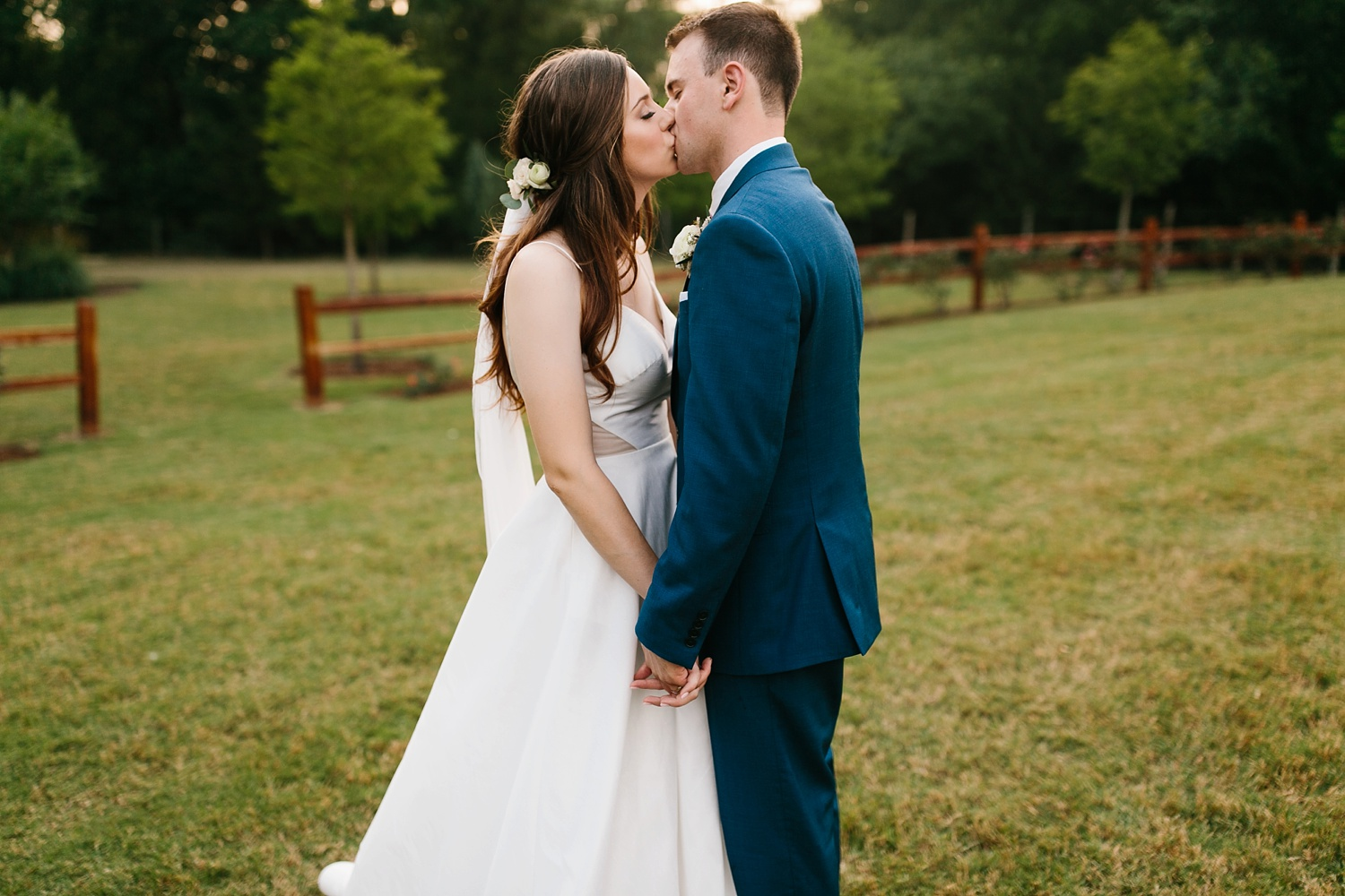 Aleta + Sabian a blush pink and navy blue wedding at The Springs in Anna, TX by North Texas Wedding Photographer _ Rachel Meagan Photography _ 094