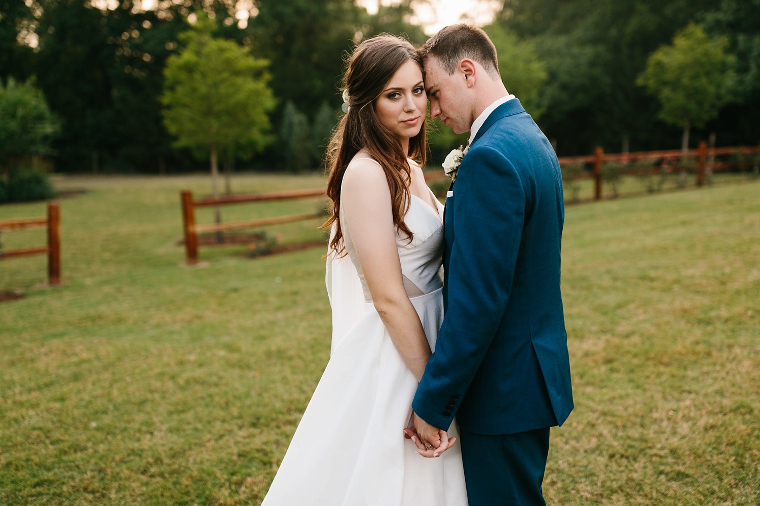 Aleta + Sabian a blush pink and navy blue wedding at The Springs in Anna, TX by North Texas Wedding Photographer _ Rachel Meagan Photography _ 095
