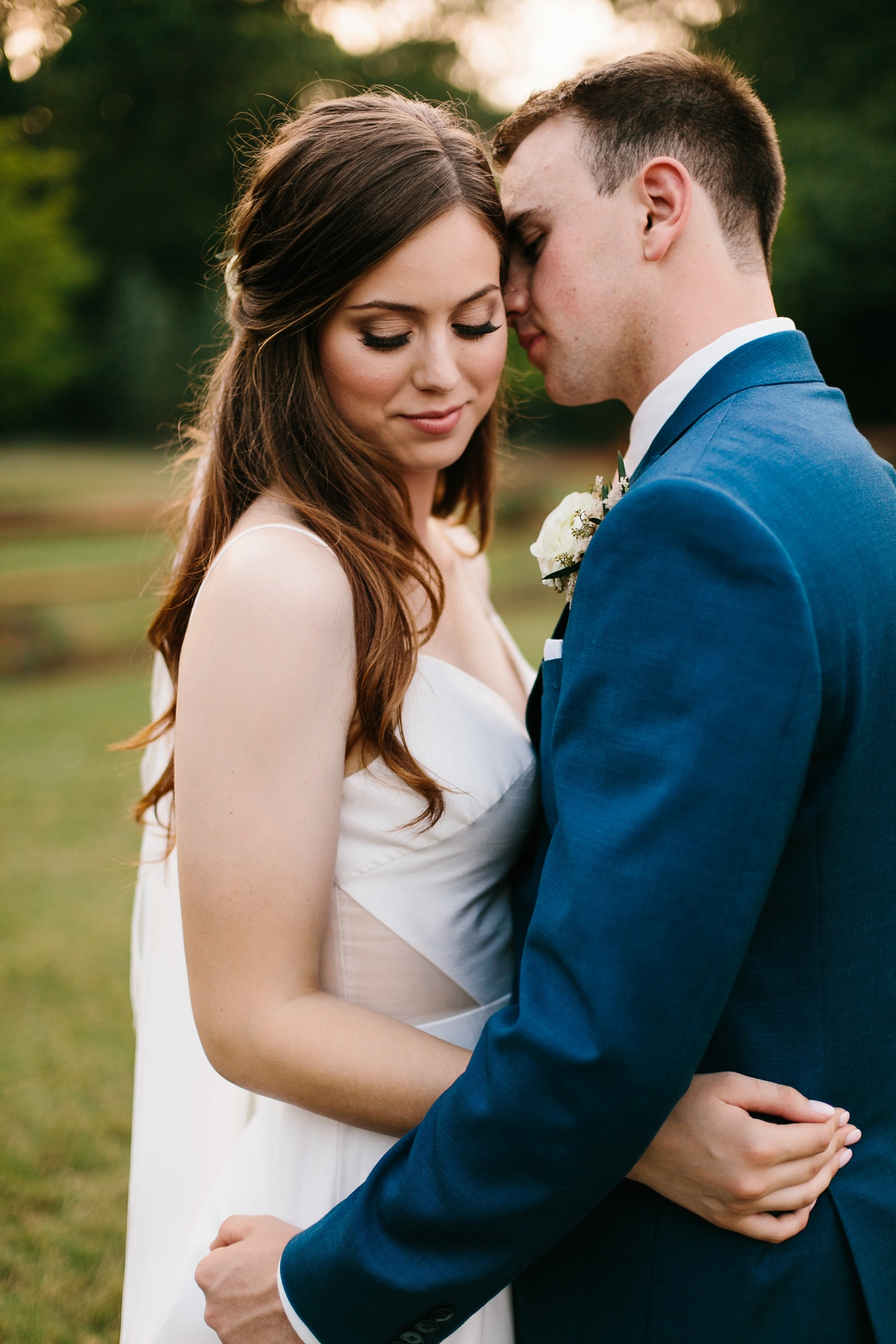 Aleta + Sabian a blush pink and navy blue wedding at The Springs in Anna, TX by North Texas Wedding Photographer _ Rachel Meagan Photography _ 097