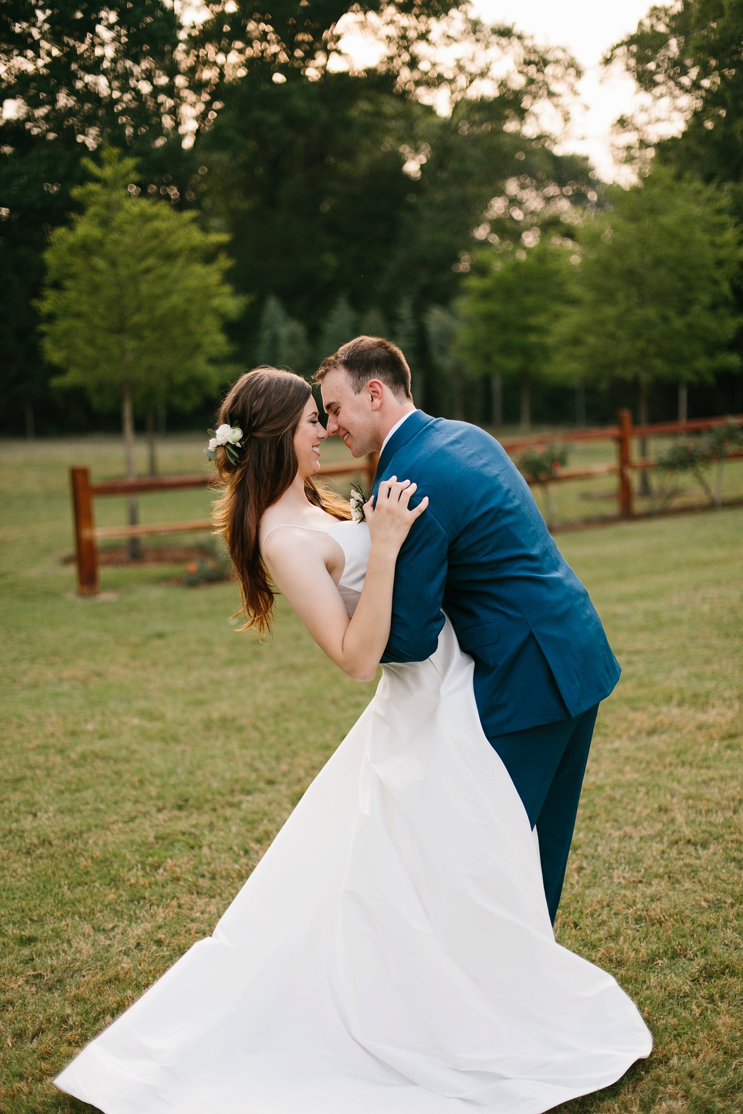 Aleta + Sabian a blush pink and navy blue wedding at The Springs in Anna, TX by North Texas Wedding Photographer _ Rachel Meagan Photography _ 100