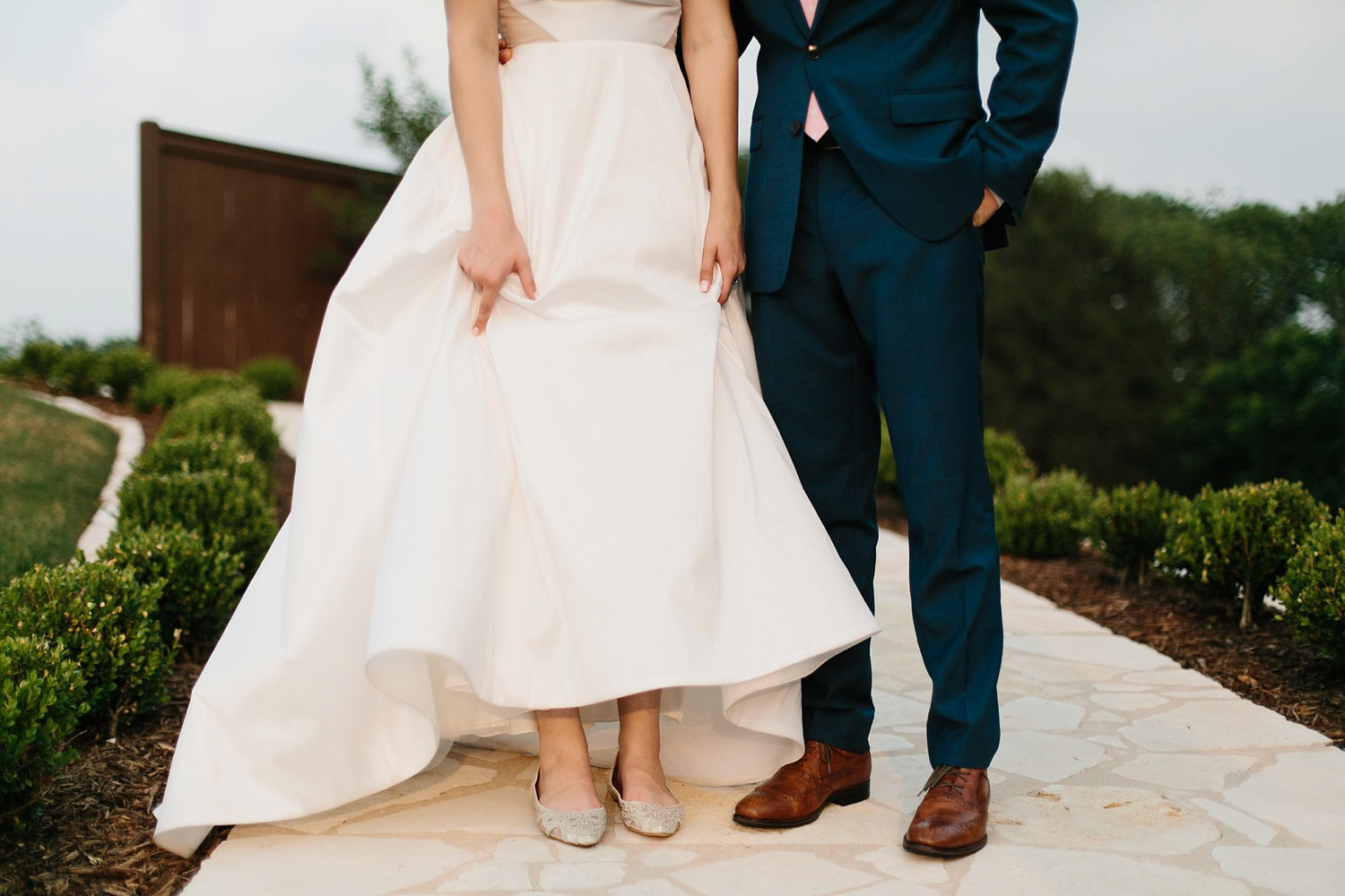 Aleta + Sabian a blush pink and navy blue wedding at The Springs in Anna, TX by North Texas Wedding Photographer _ Rachel Meagan Photography _ 103