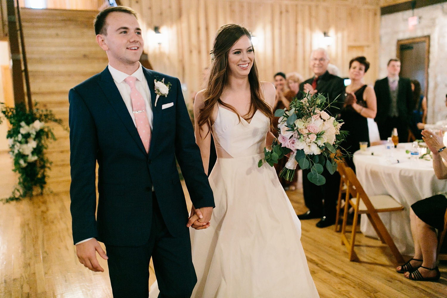 Aleta + Sabian a blush pink and navy blue wedding at The Springs in Anna, TX by North Texas Wedding Photographer _ Rachel Meagan Photography _ 106