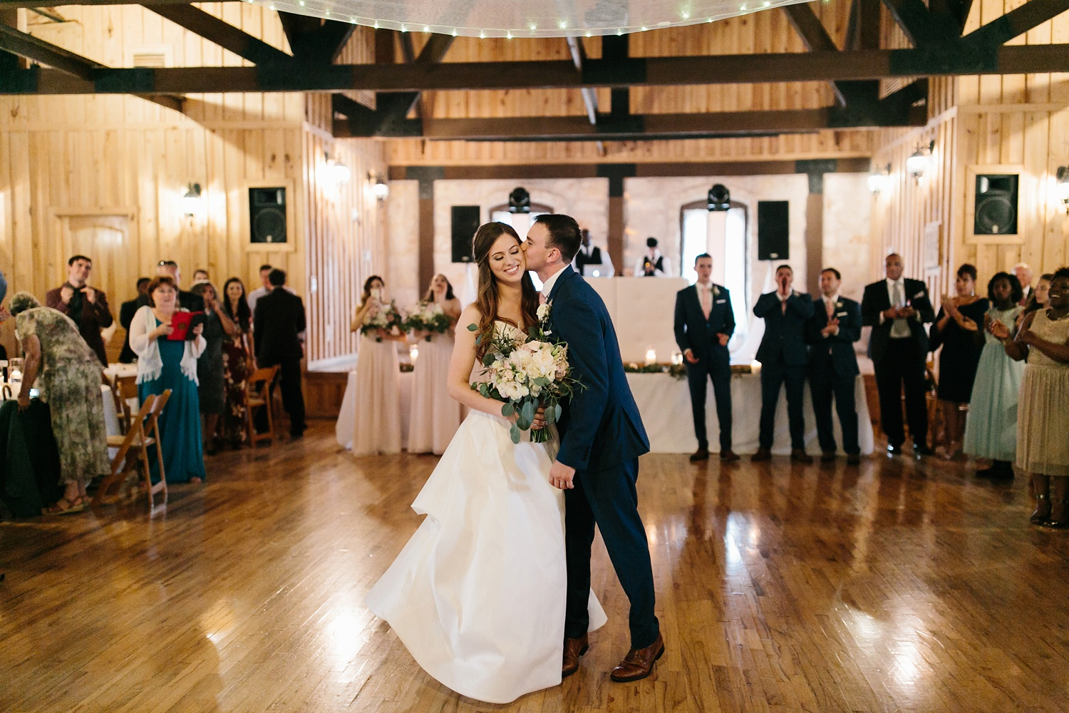 Aleta + Sabian a blush pink and navy blue wedding at The Springs in Anna, TX by North Texas Wedding Photographer _ Rachel Meagan Photography _ 107