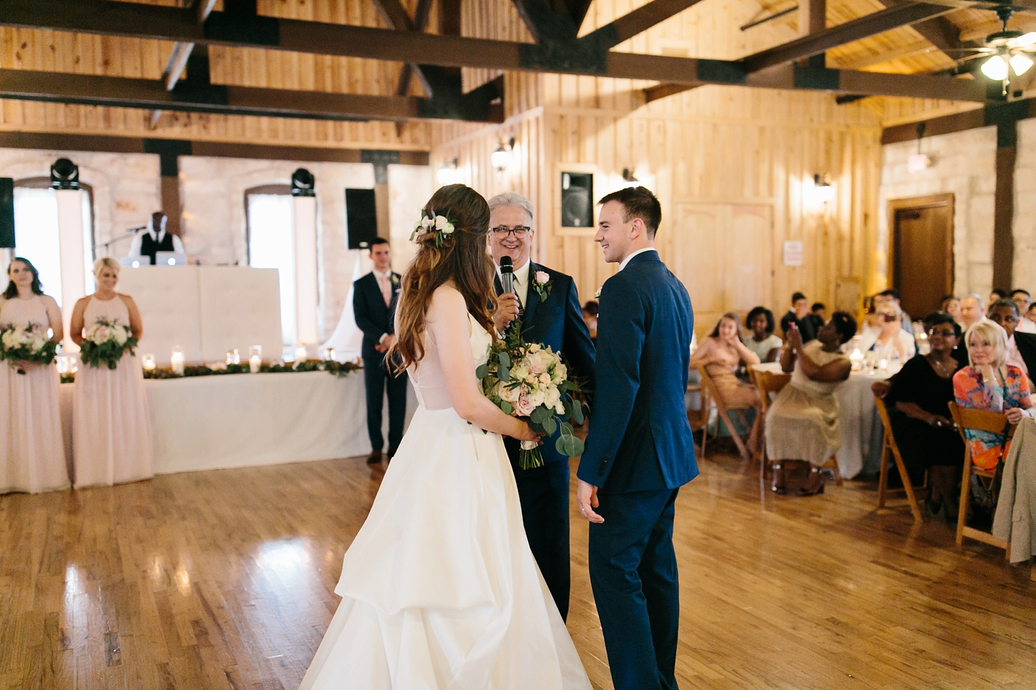 Aleta + Sabian a blush pink and navy blue wedding at The Springs in Anna, TX by North Texas Wedding Photographer _ Rachel Meagan Photography _ 108