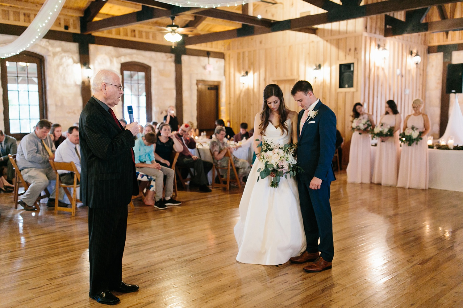 Aleta + Sabian a blush pink and navy blue wedding at The Springs in Anna, TX by North Texas Wedding Photographer _ Rachel Meagan Photography _ 109