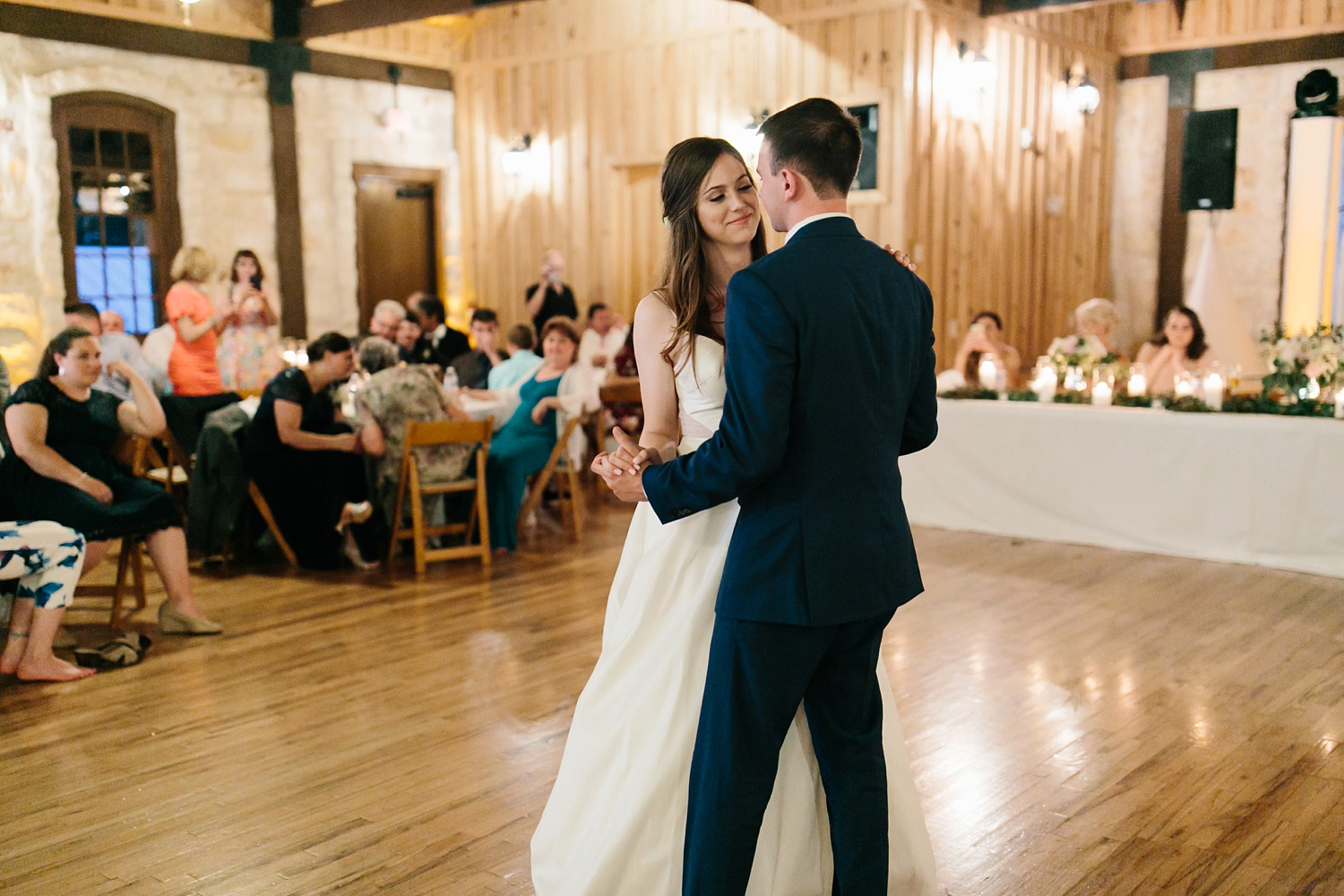 Aleta + Sabian a blush pink and navy blue wedding at The Springs in Anna, TX by North Texas Wedding Photographer _ Rachel Meagan Photography _ 111
