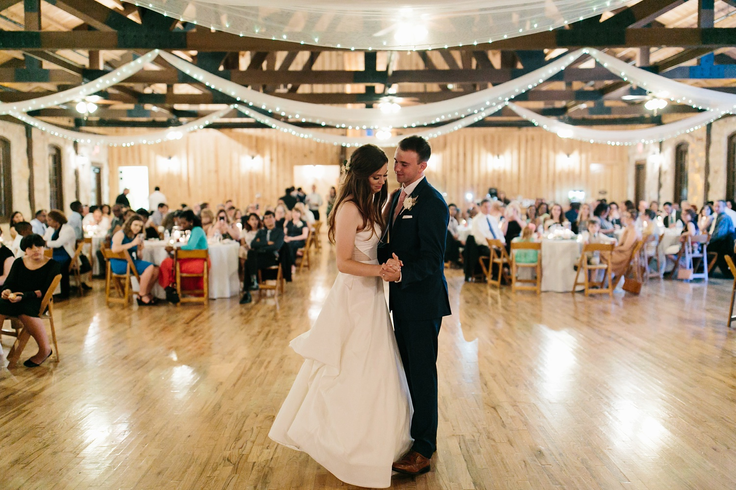 Aleta + Sabian a blush pink and navy blue wedding at The Springs in Anna, TX by North Texas Wedding Photographer _ Rachel Meagan Photography _ 112