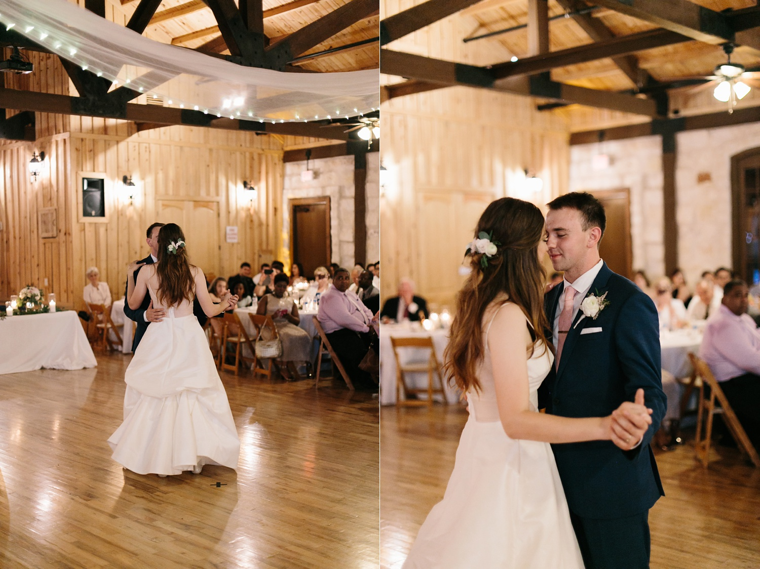 Aleta + Sabian a blush pink and navy blue wedding at The Springs in Anna, TX by North Texas Wedding Photographer _ Rachel Meagan Photography _ 113