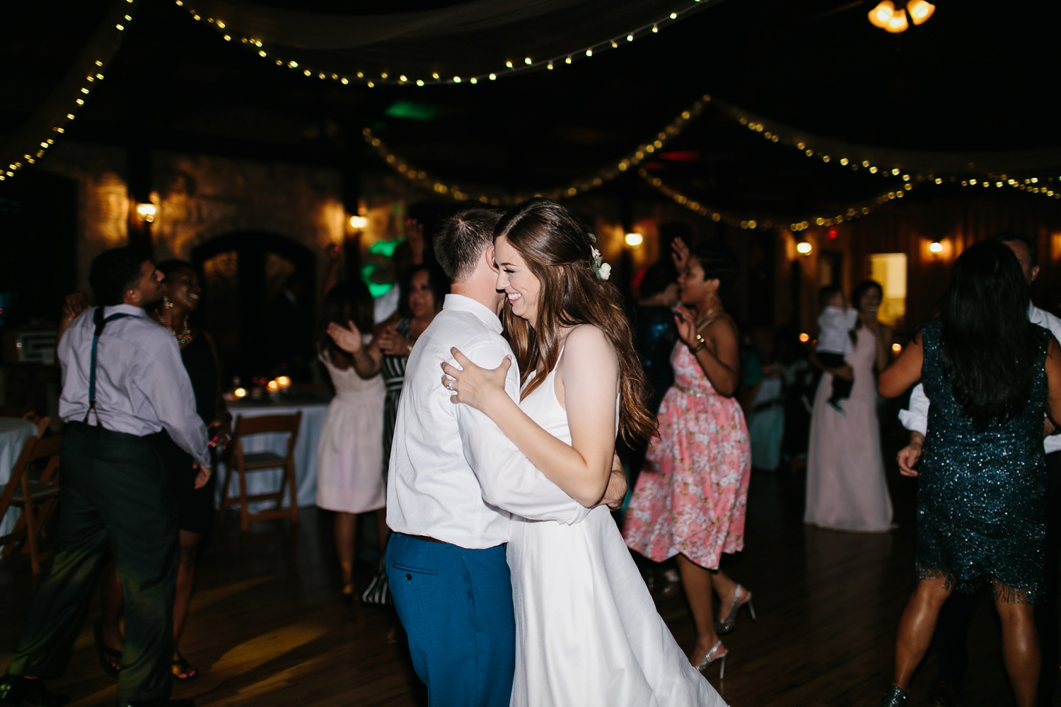 Aleta + Sabian a blush pink and navy blue wedding at The Springs in Anna, TX by North Texas Wedding Photographer _ Rachel Meagan Photography _ 127