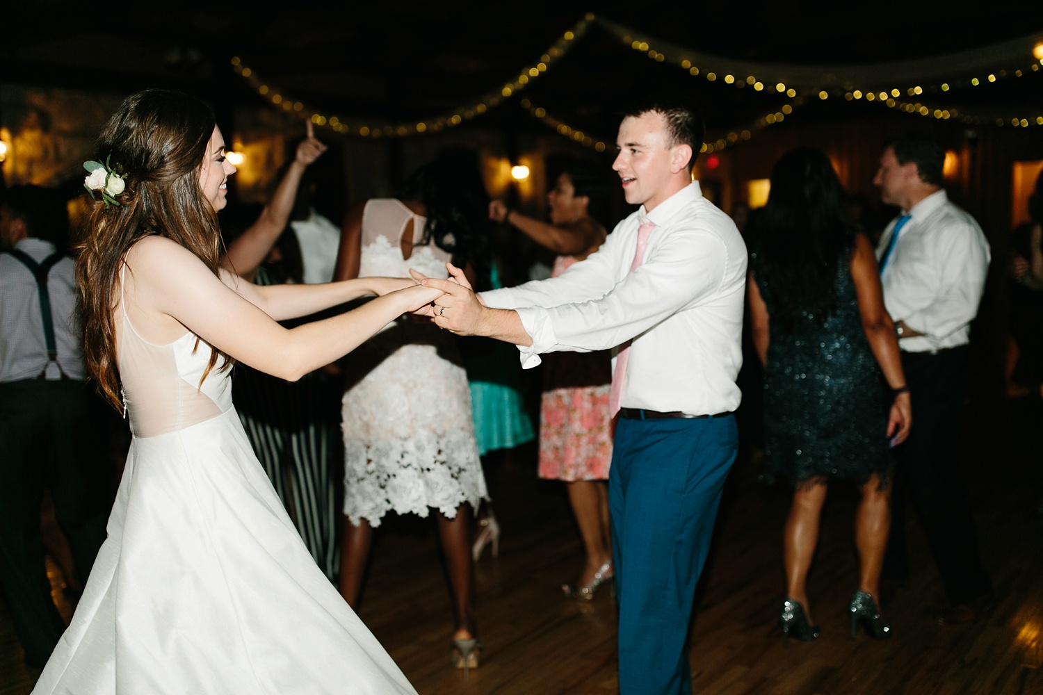 Aleta + Sabian a blush pink and navy blue wedding at The Springs in Anna, TX by North Texas Wedding Photographer _ Rachel Meagan Photography _ 128